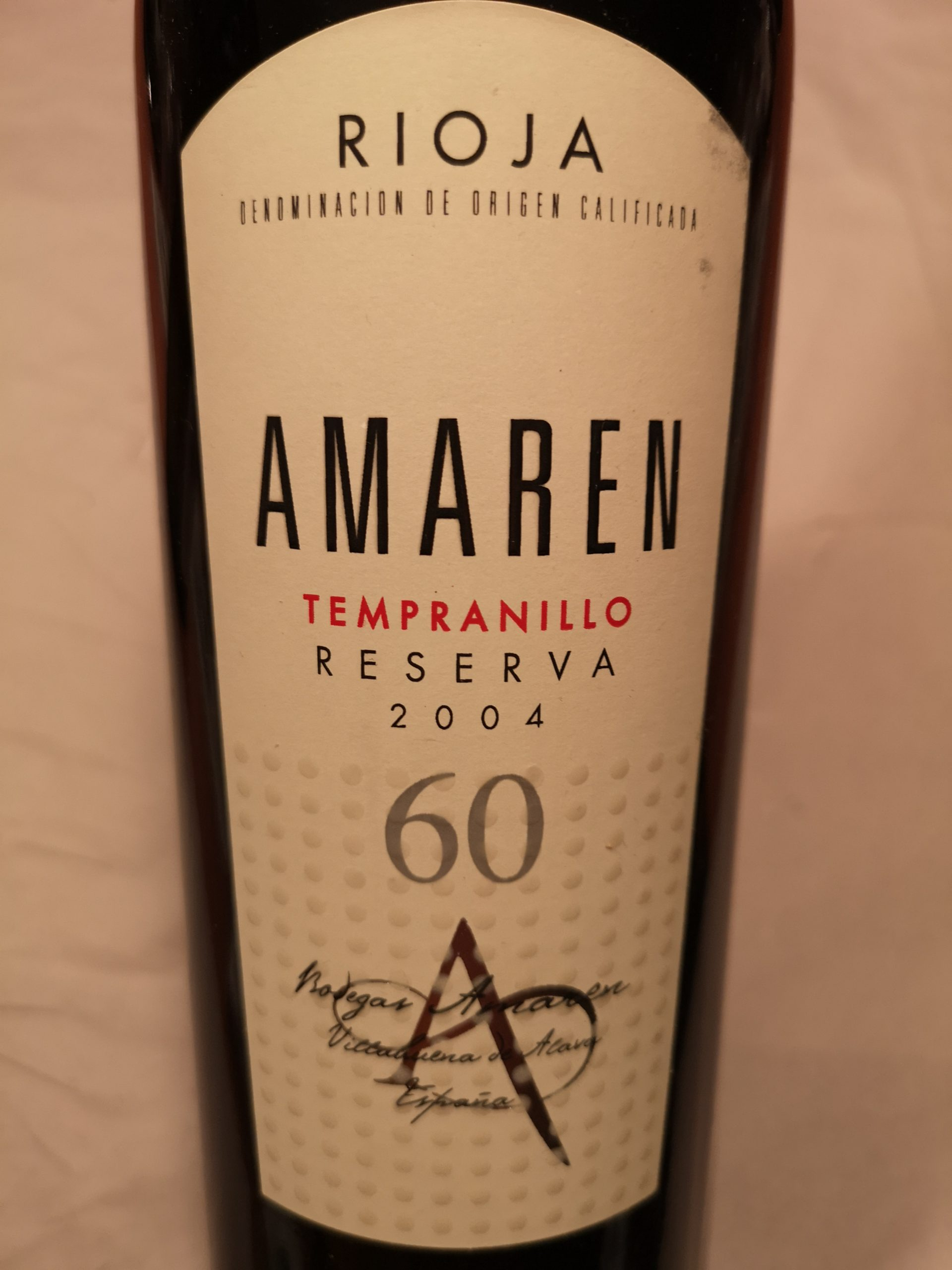 2004 Rioja Reserva | Bodegas Amaren