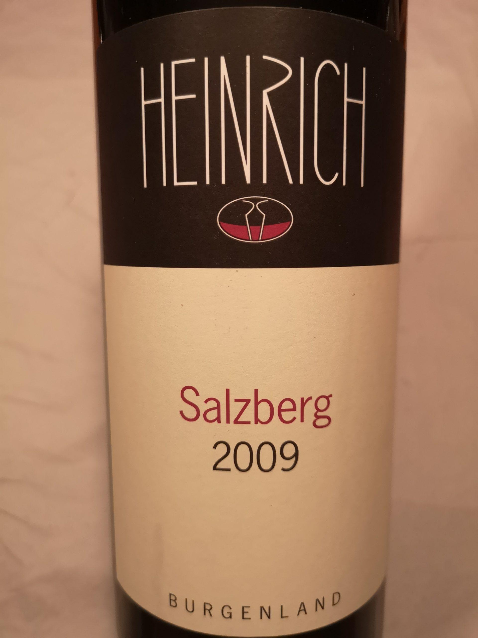 2009 Salzberg   G. Heinrich
