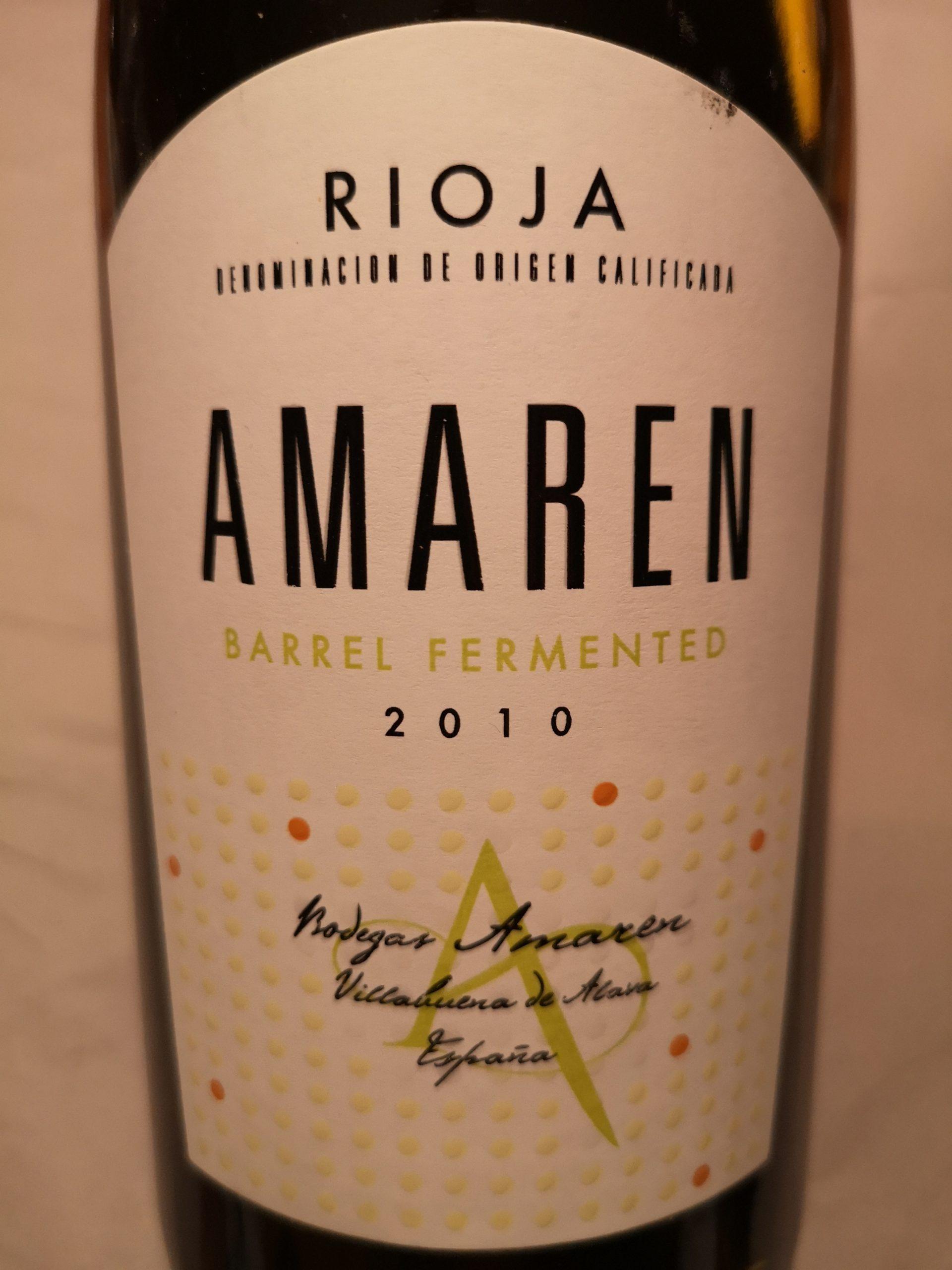 2010 Rioja Blanco | Bodegas Amaren