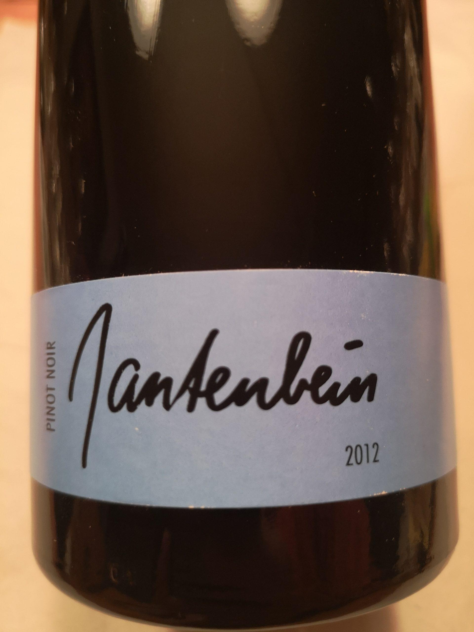2012 Pinot Noir Fläsch | Gantenbein