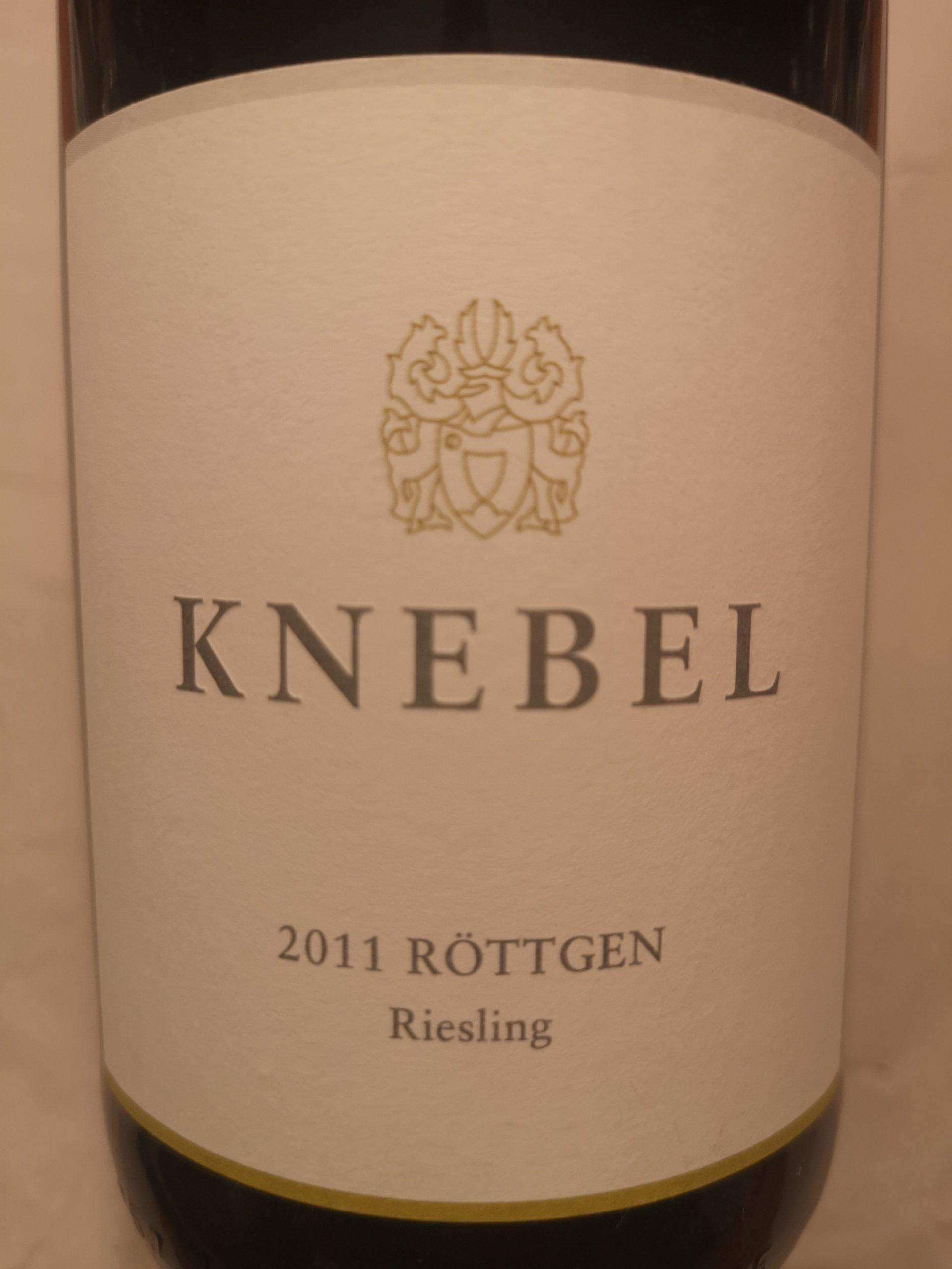 2011 Riesling Röttgen | Knebel