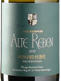 2018 Chardonnay Alte Reben | Huber