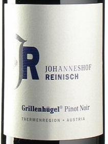 2018 Pinot Noir Grillenhügel | Johanneshof Reinisch