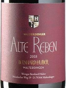2018 Spätburgunder Alte Reben | Huber