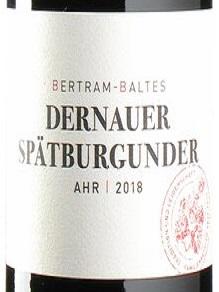 2018 Spätburgunder Dernauer | Bertram
