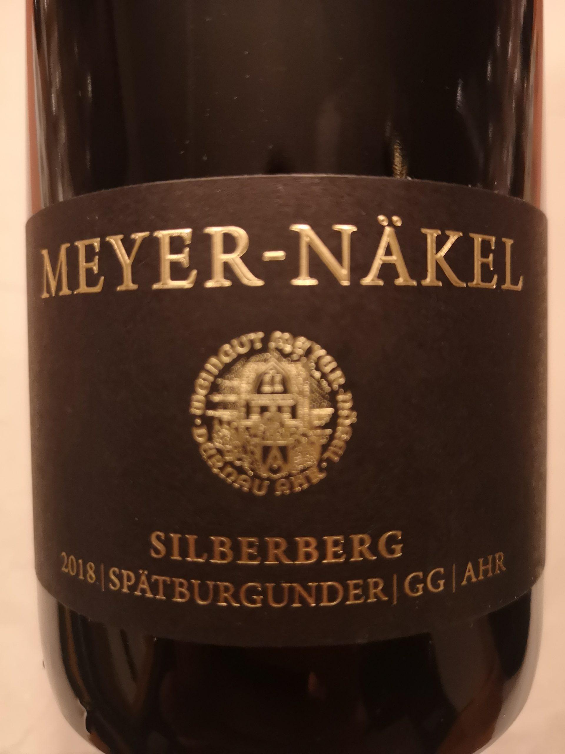 2018 Spätburgunder Silberberg GG | Meyer-Näkel