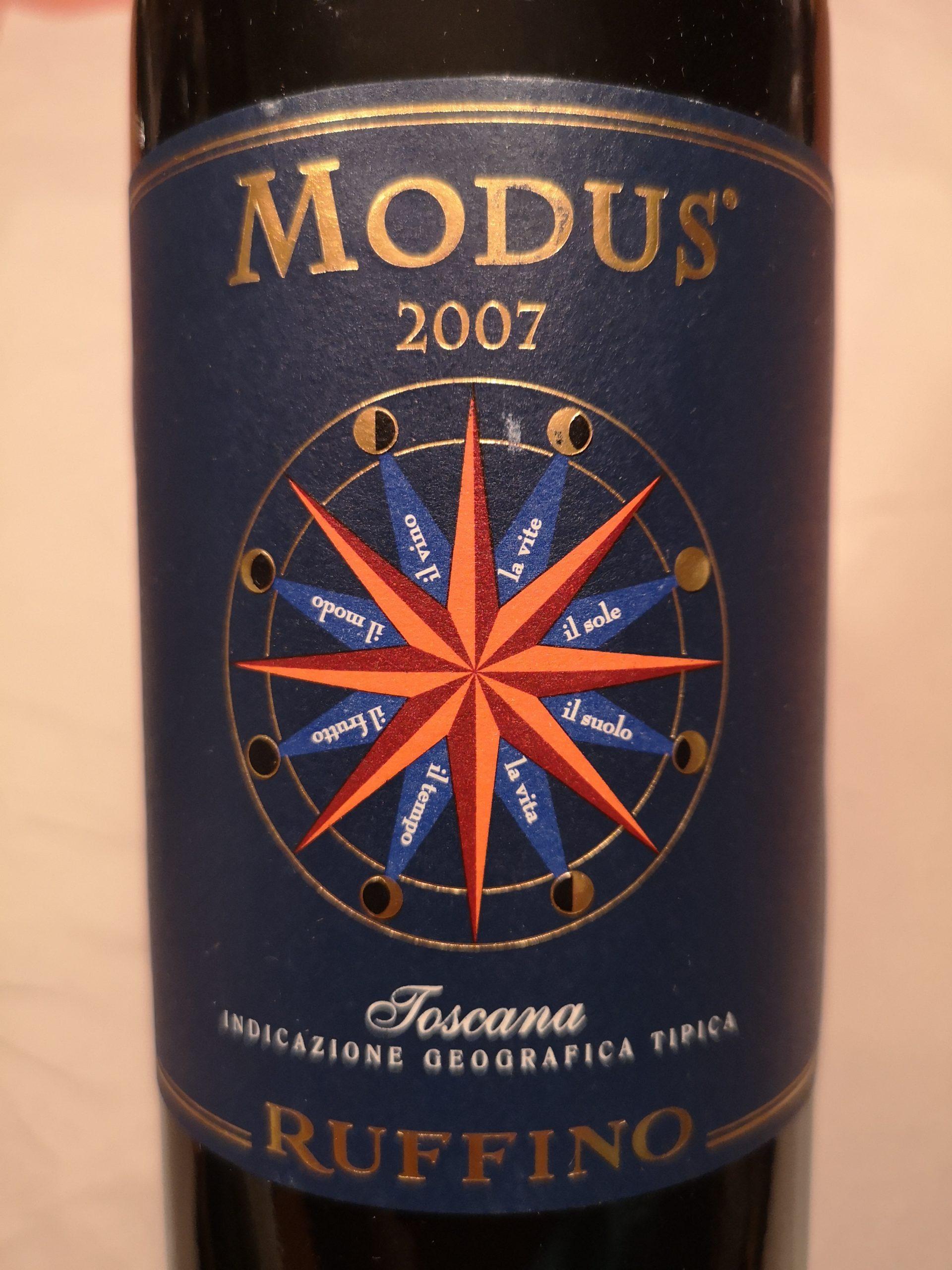 2007 Modus | Ruffino