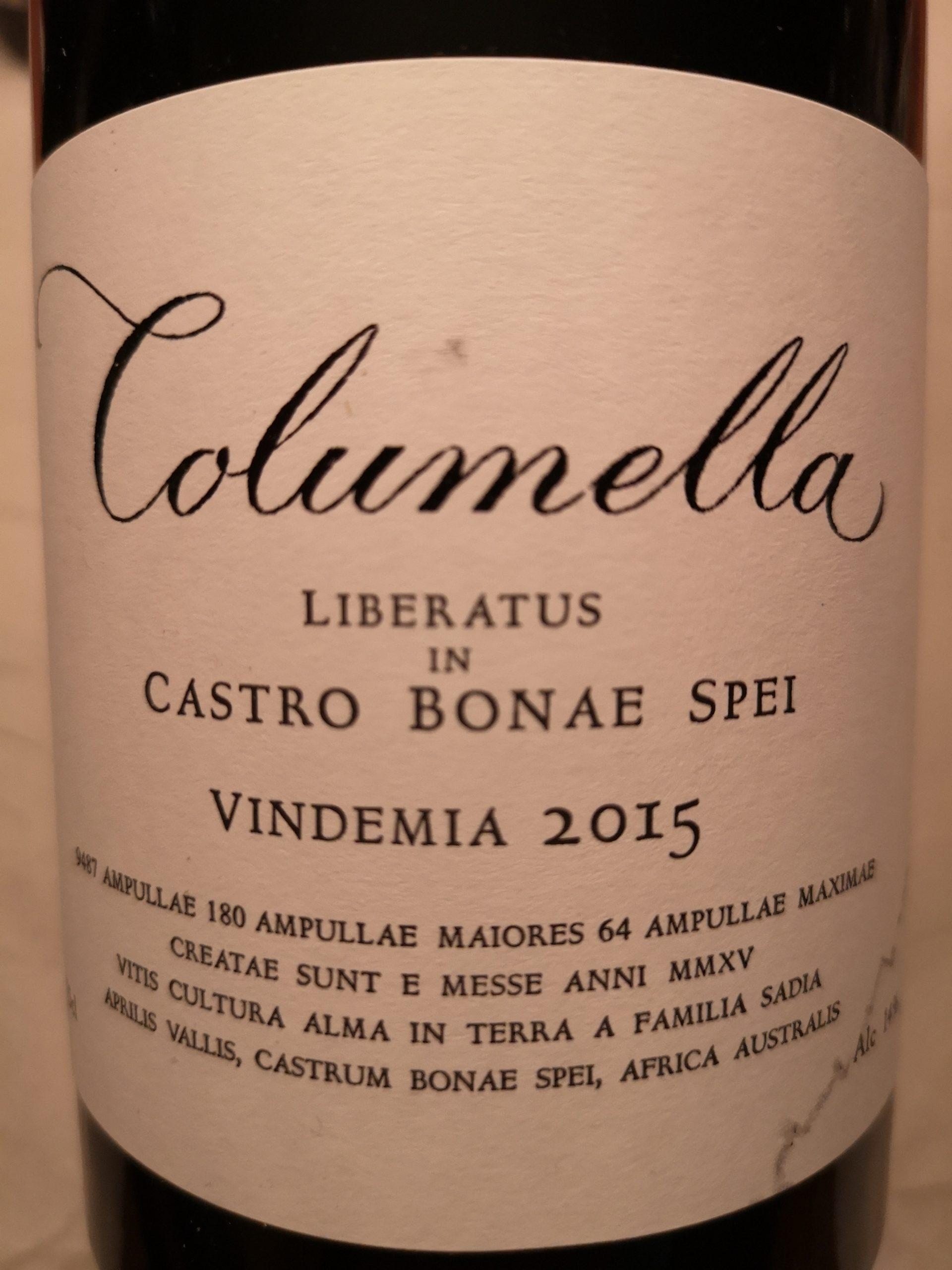 2015 Columella | Sadie