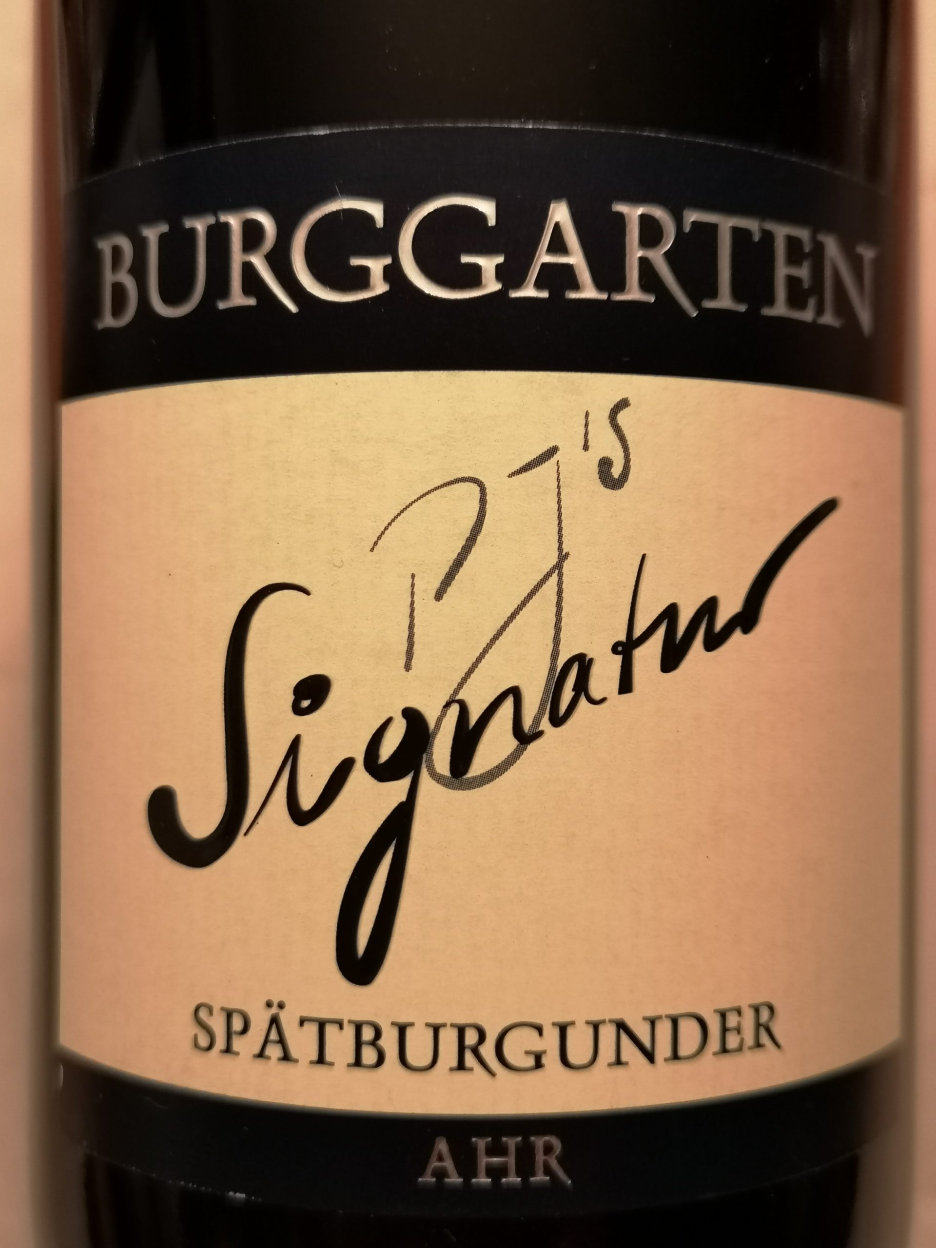 2017 Spätburgunder Signatur trocken | Burggarten
