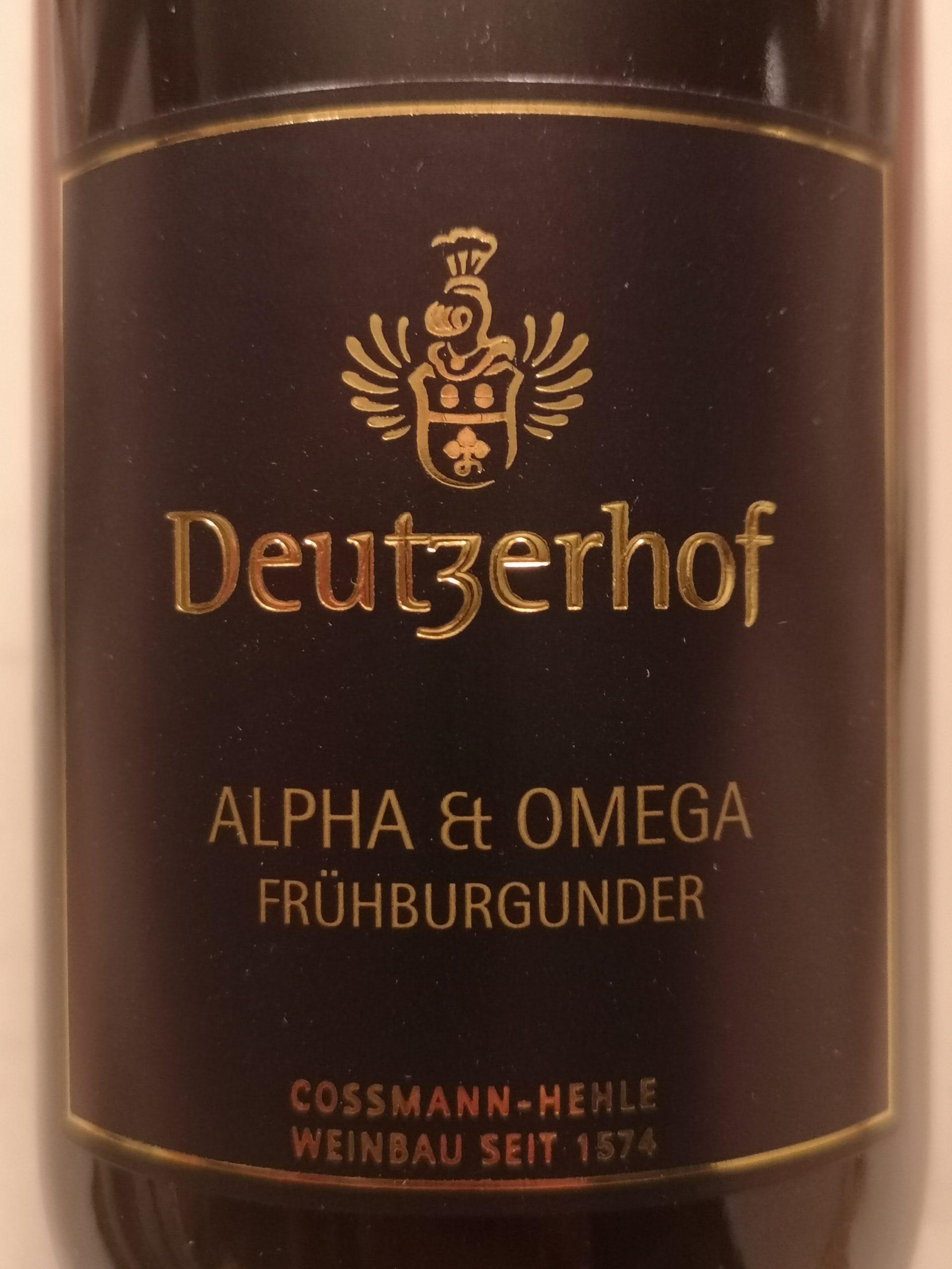 2018 Frühburgunder Alpha & Omega | Deutzerhof