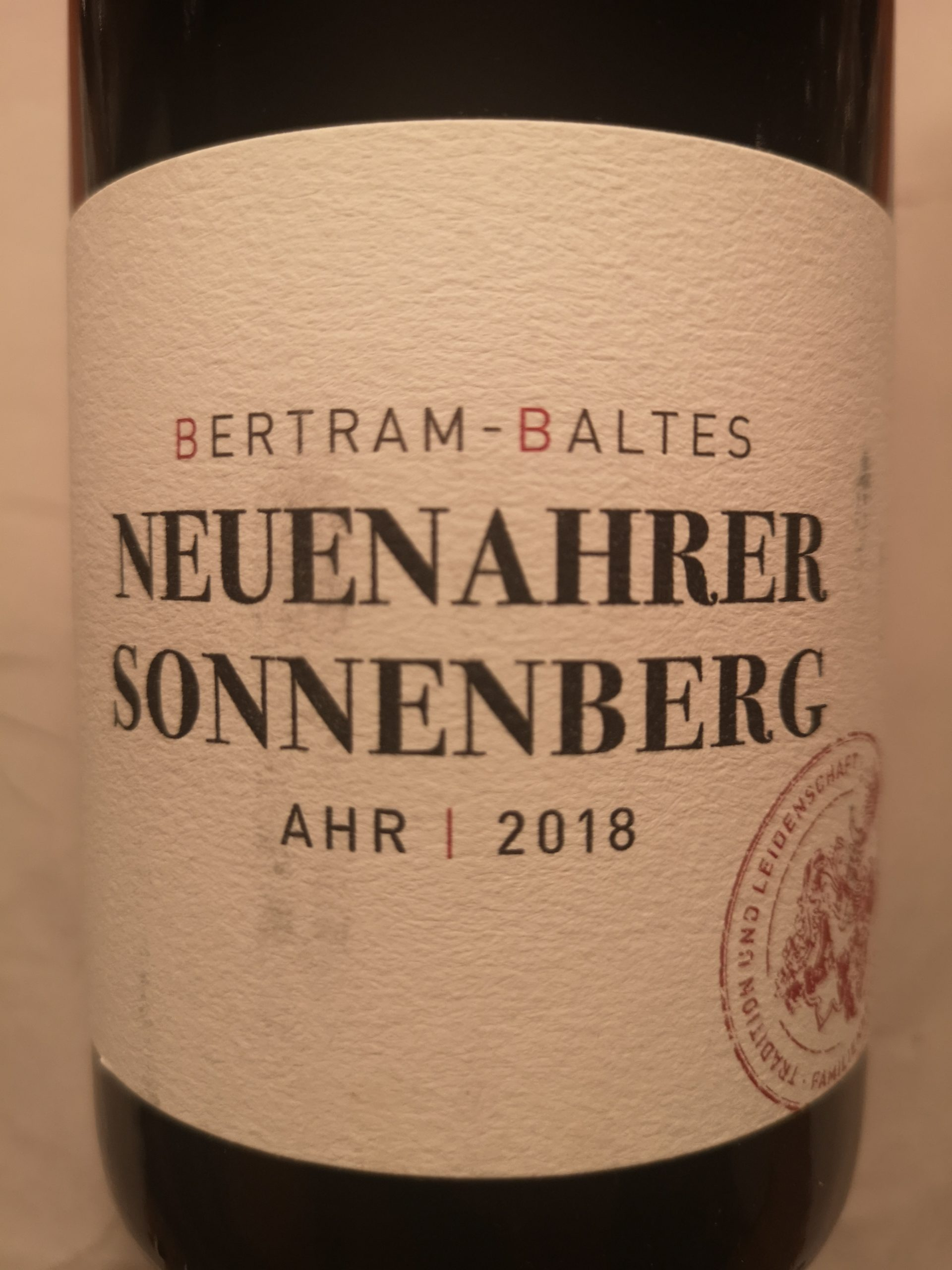 2018 Frühburgunder Neuenahrer Sonnenberg | Bertram-Baltes