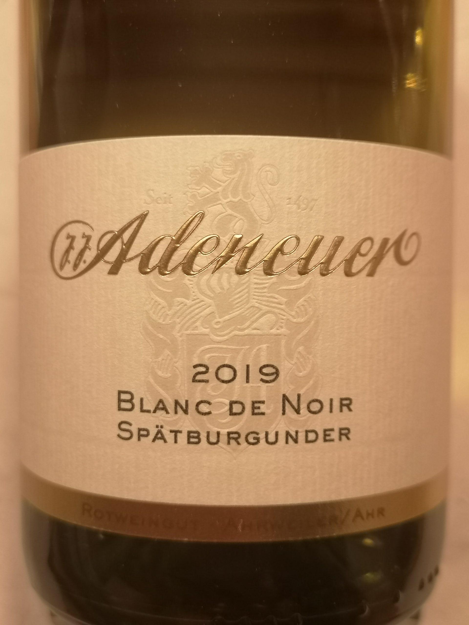 2019 Spätburgunder Blanc de Noirs trocken | Adeneuer