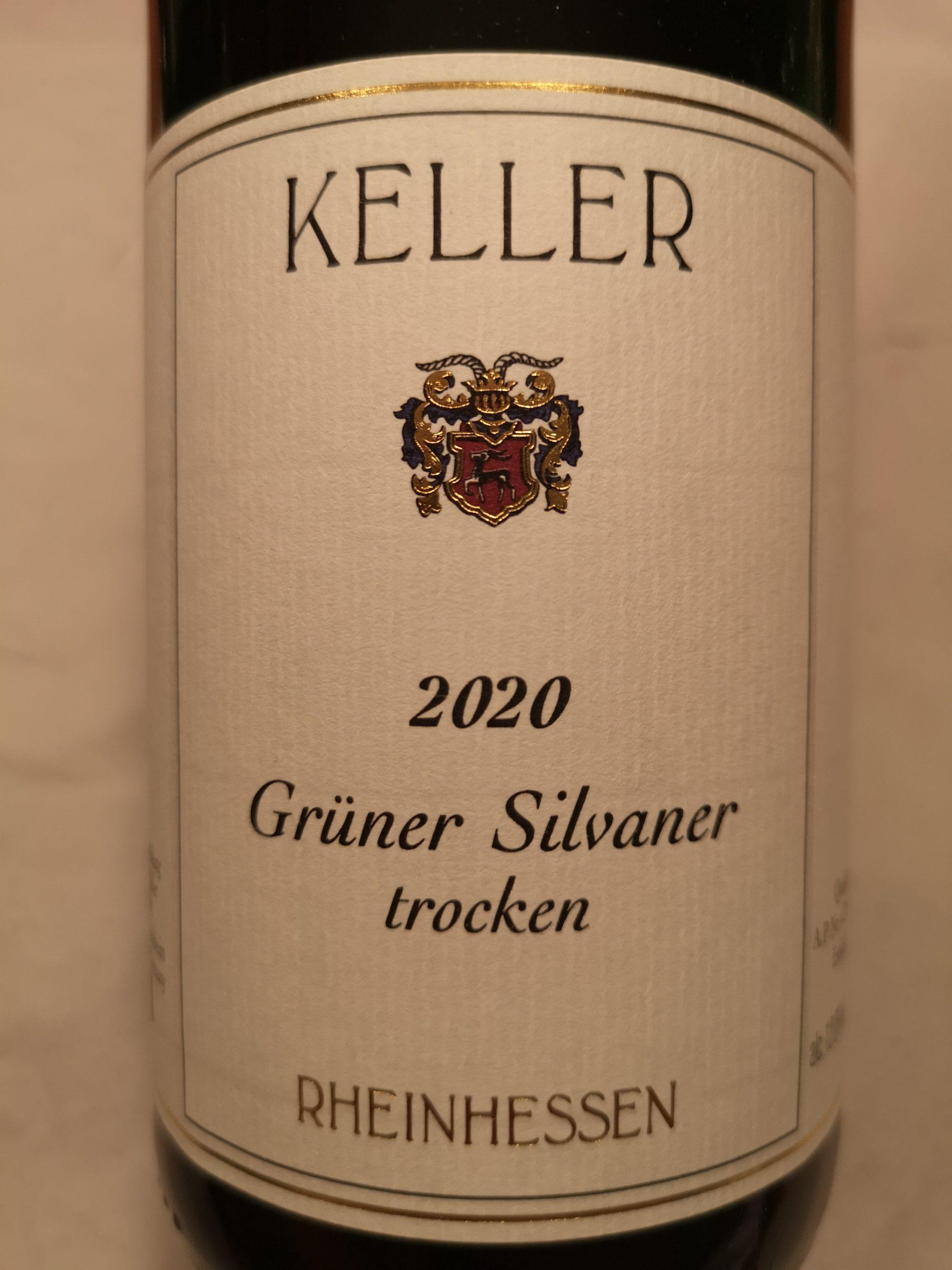 2020 Grüner Silvaner trocken | Keller