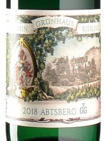 2018 Riesling Abtsberg GG | Maximin Grünhaus