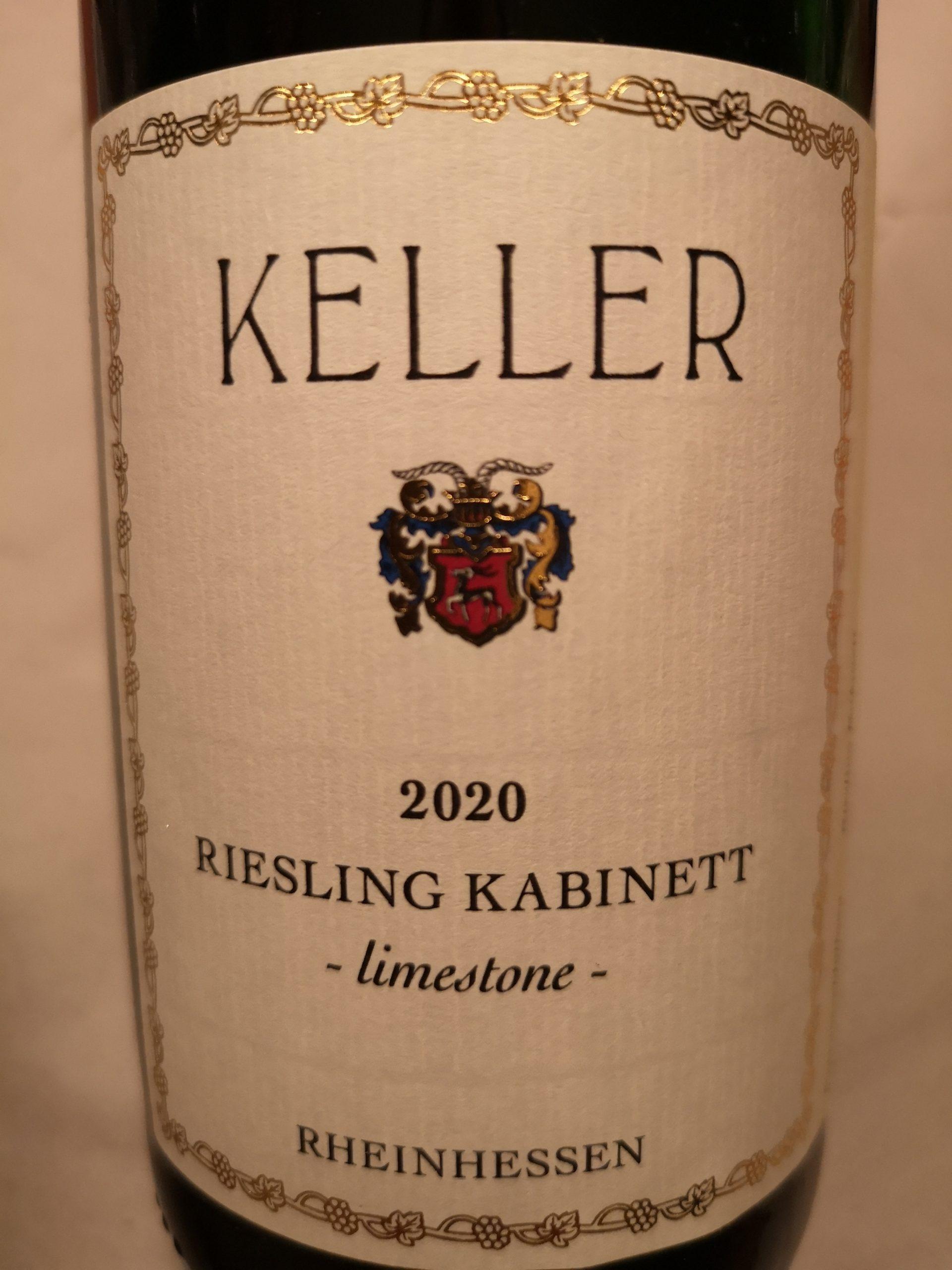 2020 Riesling Kabinett limestone | Keller