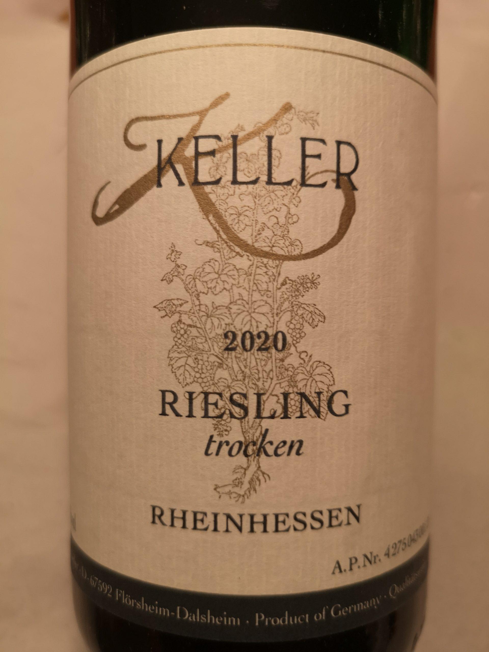 2020 Riesling trocken | Keller
