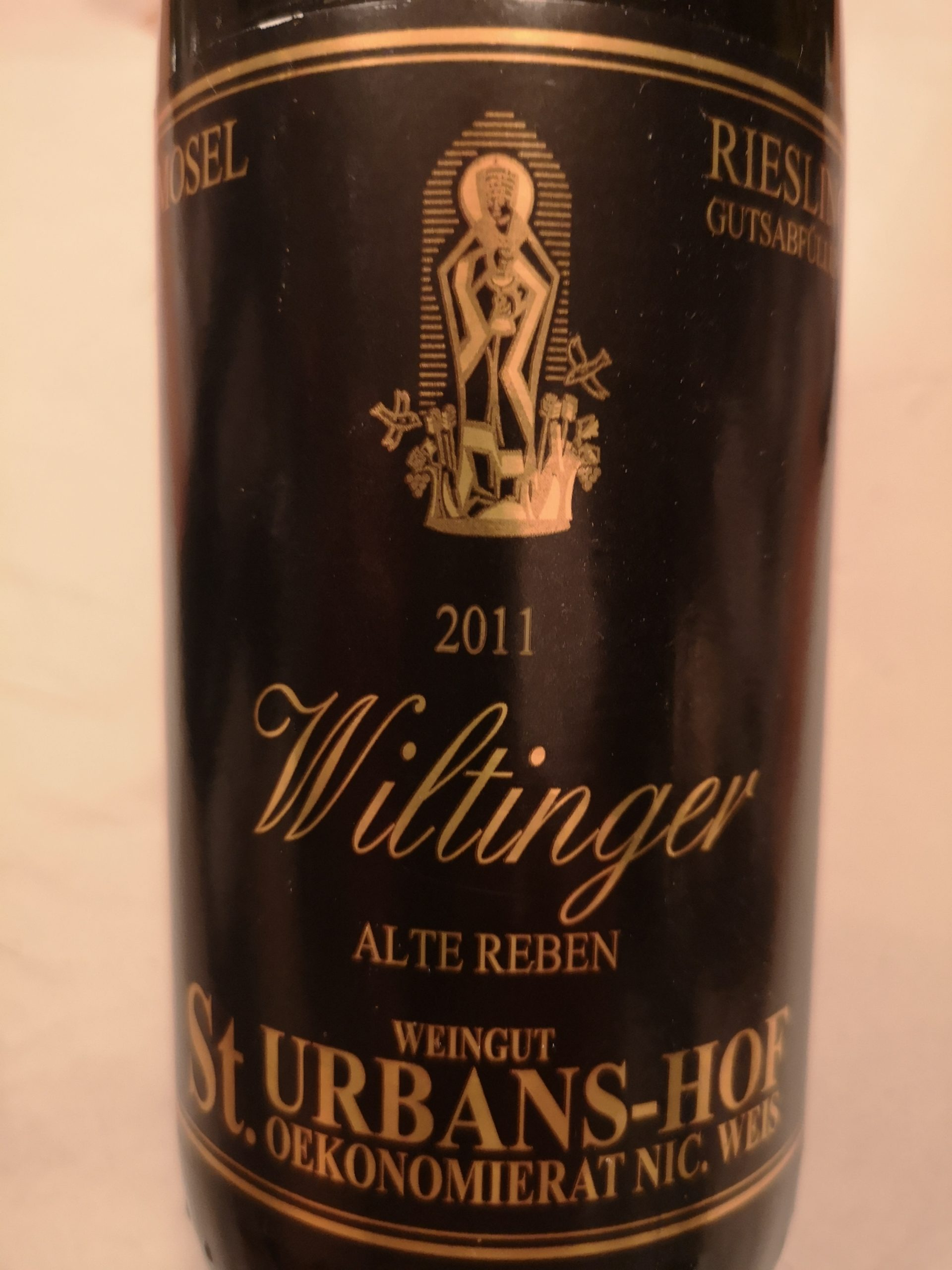 2011 Riesling Wiltinger Alte Reben | St.-Urbans-Hof