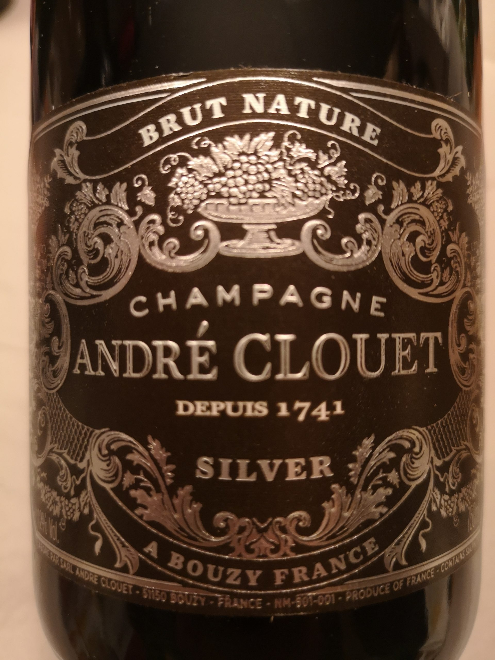 -nv- Champagne Silver Brut Nature Grand Cru (non-dosage) | Clouet