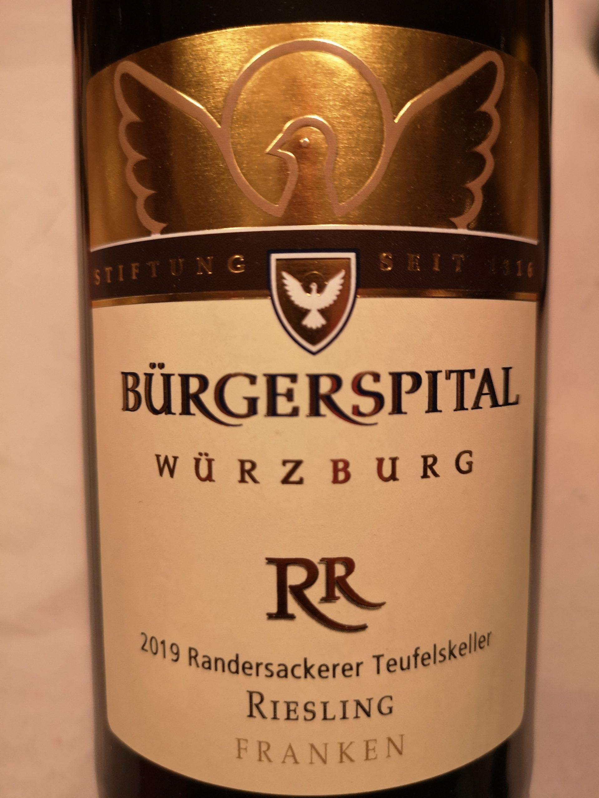 2019 Riesling Randersackerer Teufelsberg | Bürgerspital