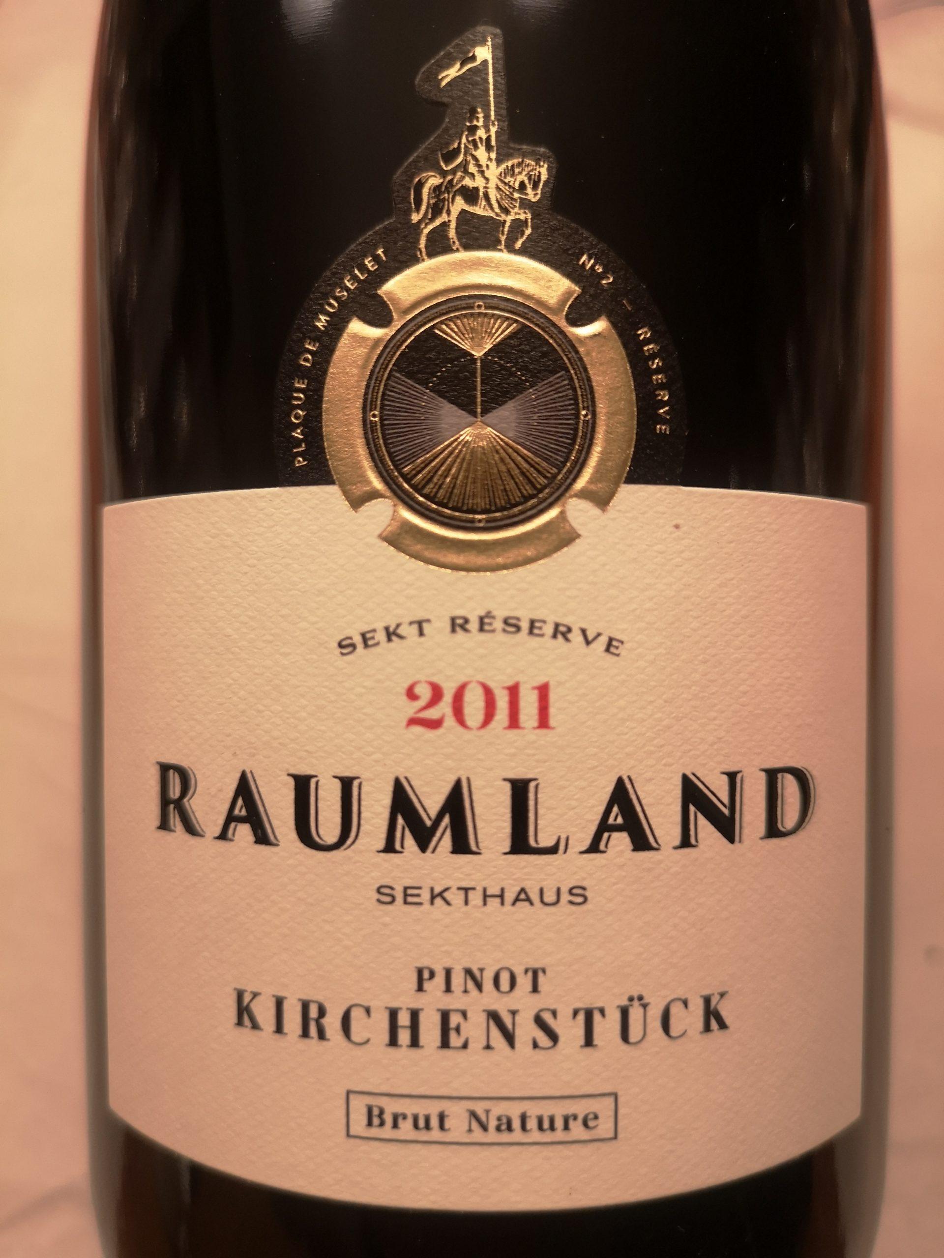 2011 Sekt Pinot Noir Kirchenstück Reserve BN | Raumland