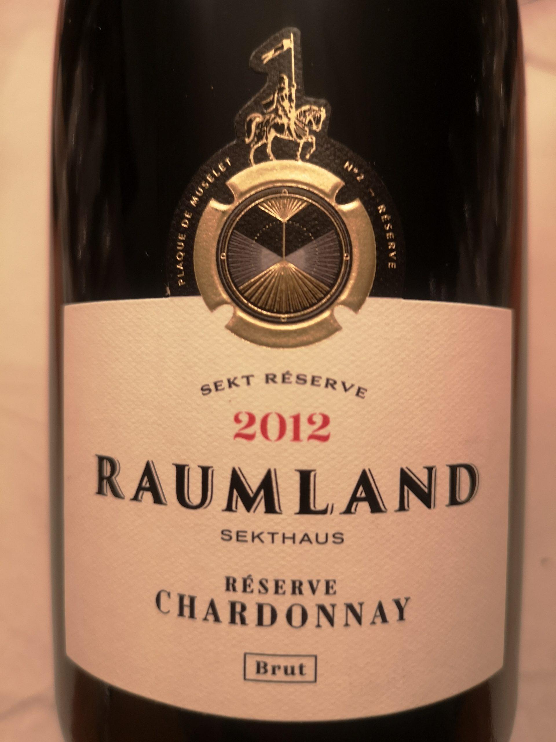 2012 Sekt Chardonnay Reserve Brut | Raumland