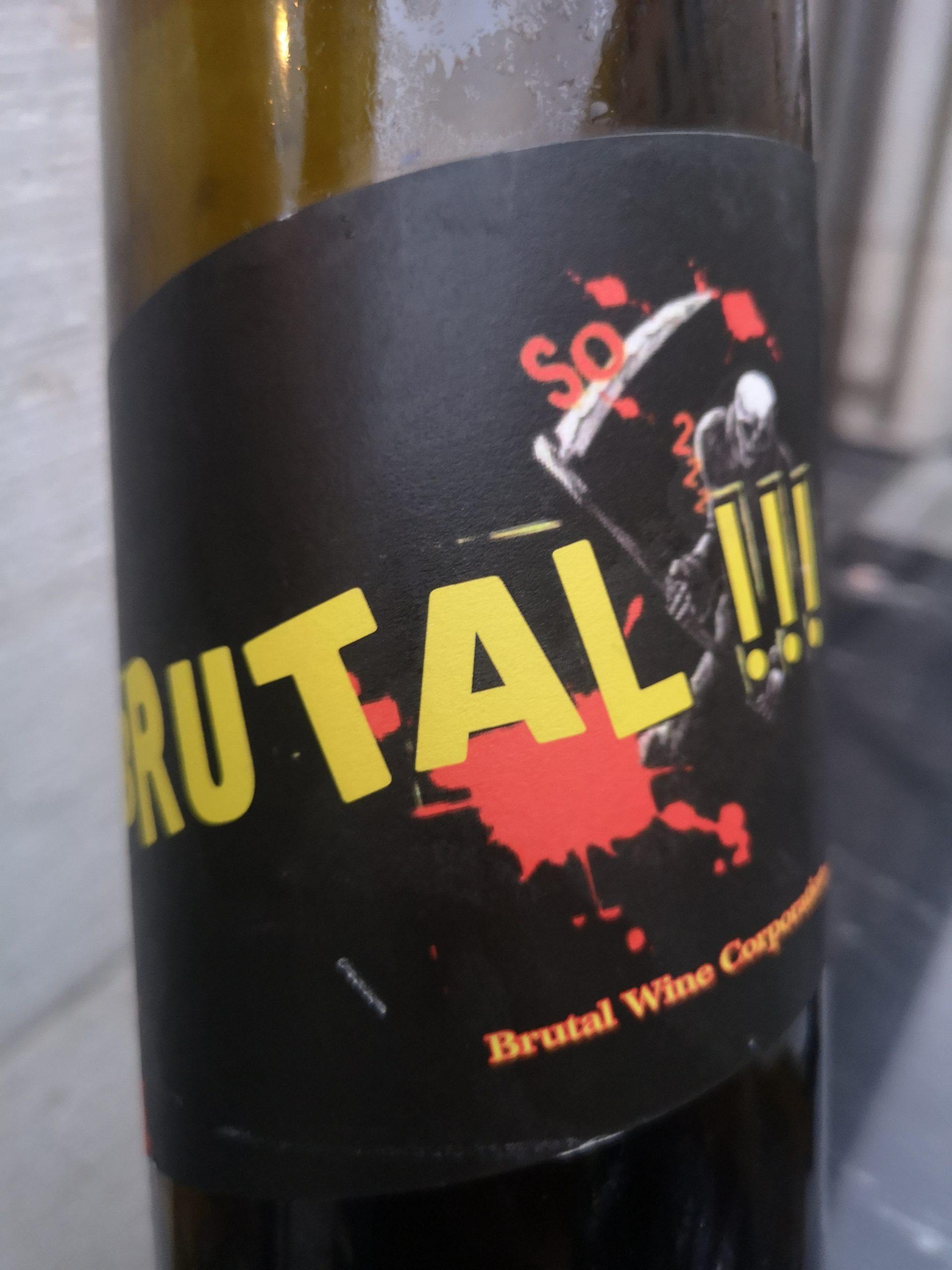 2018 Pinot Noir Brutal | Tschida