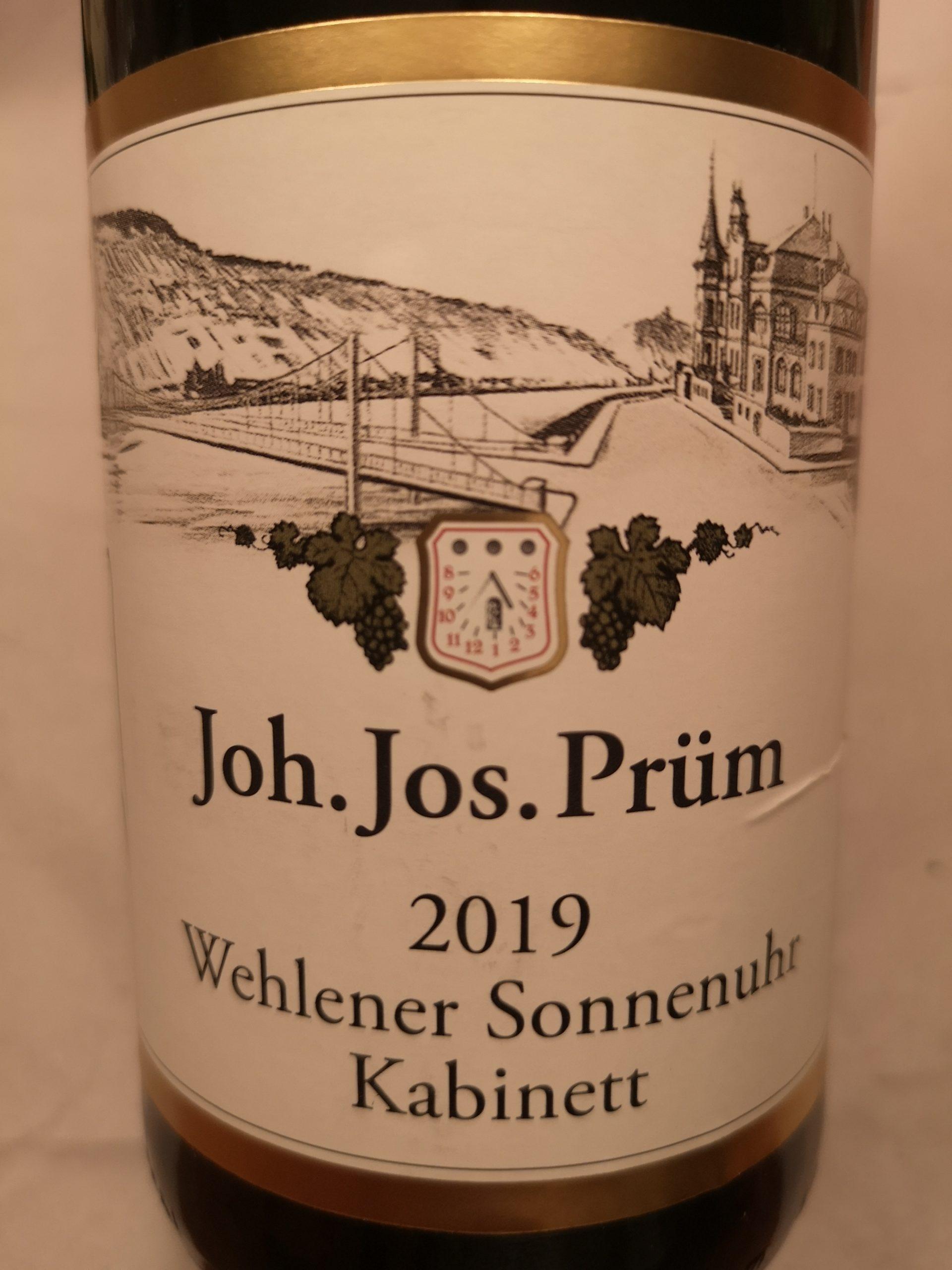 2019 Riesling Kabinett Wehlener Sonnenuhr | J.J. Prüm
