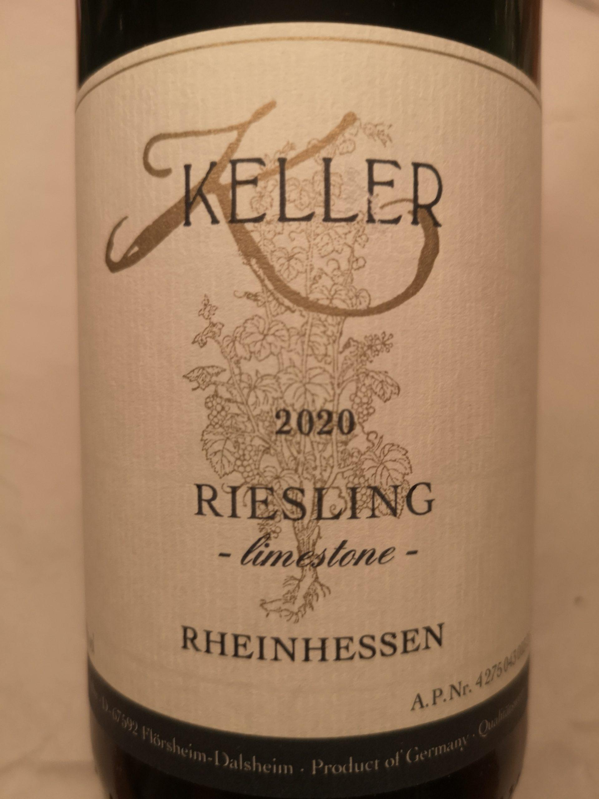 2020 Riesling limestone | Keller