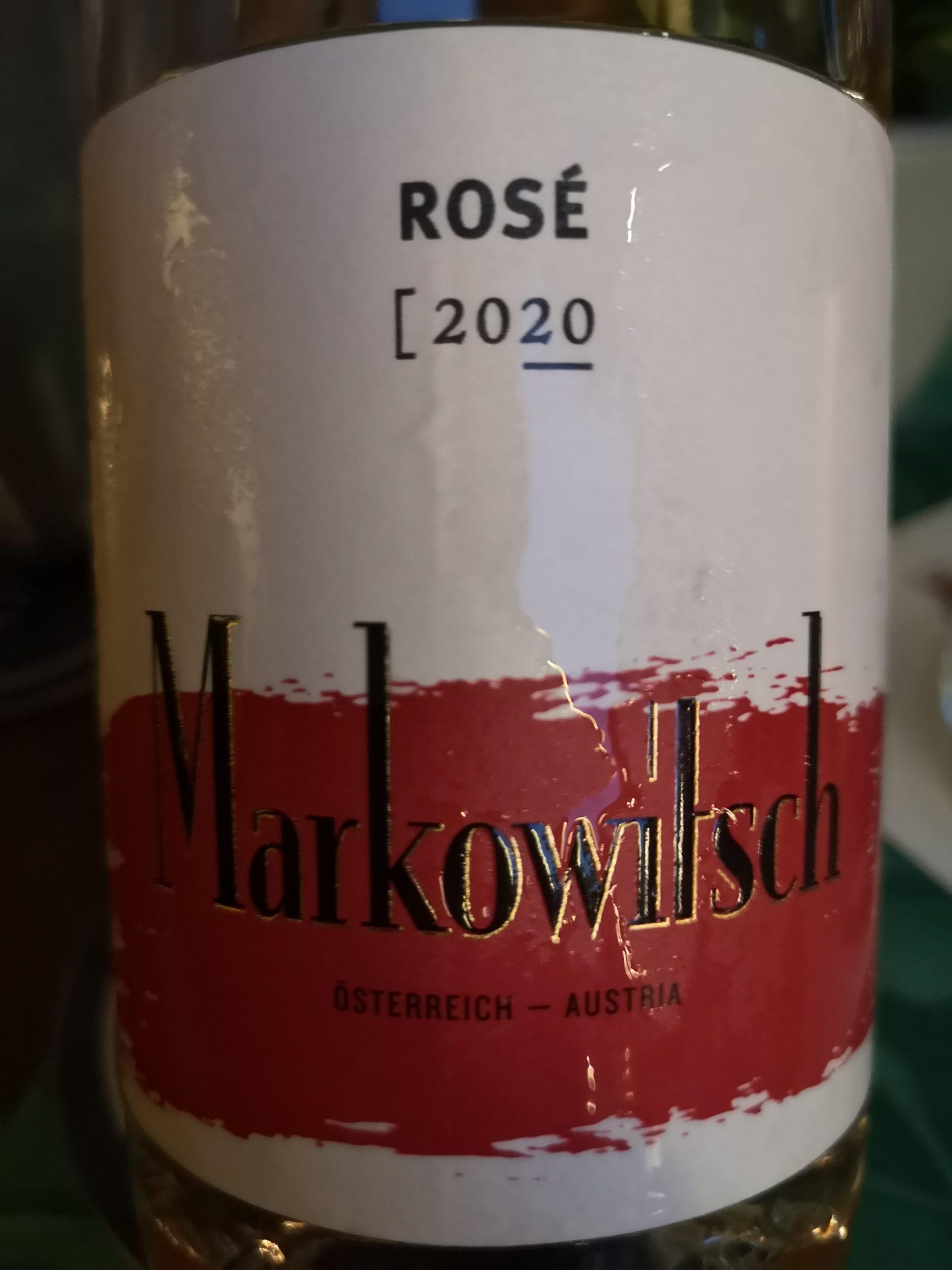 2020 Rosé | Markowitsch