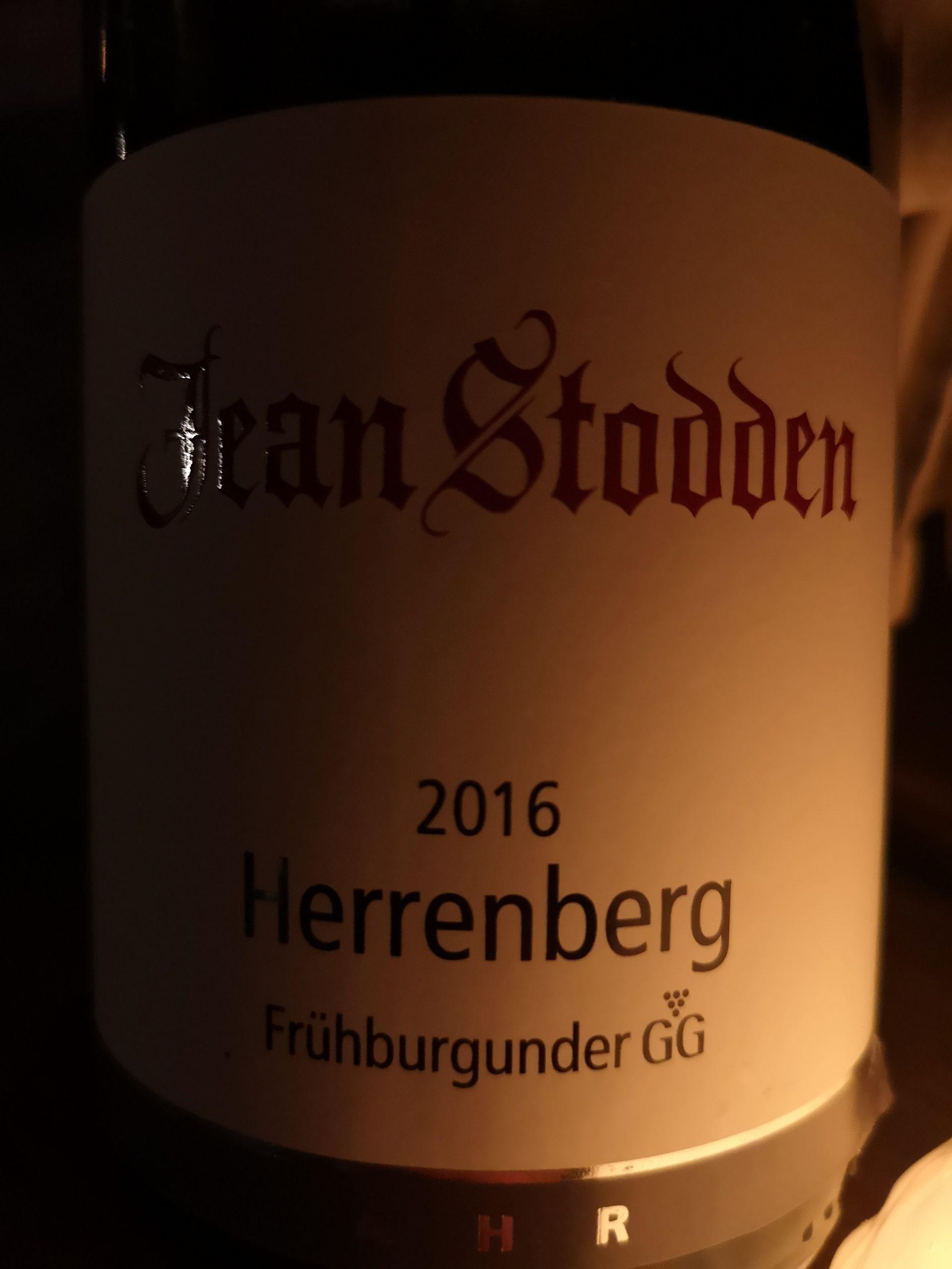 2016 Frühburgunder Recher Herrenberg GG | Jean Stodden
