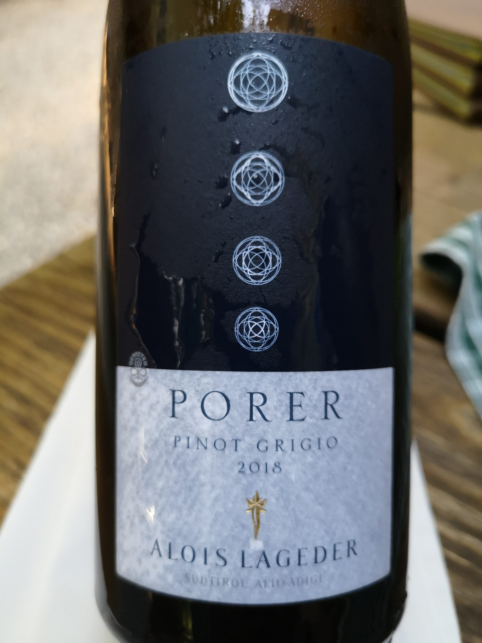 2018 Pinot Grigio Porer | Alois Lageder