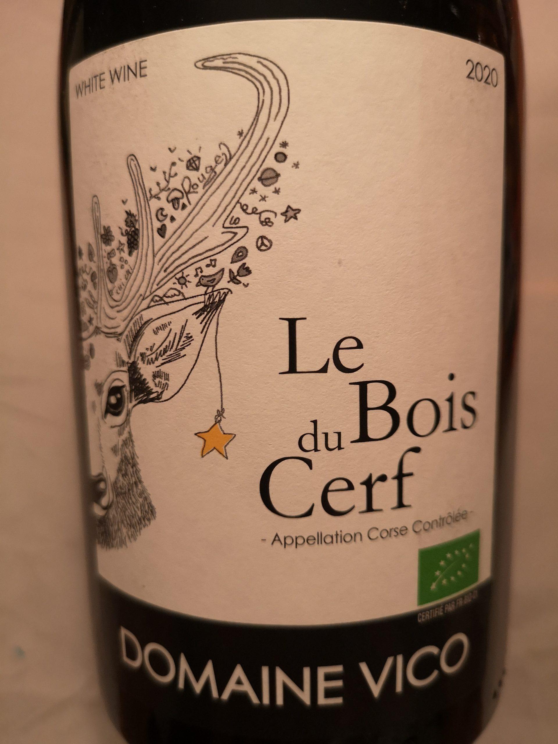 2020 Le Bois du Cerf Blanc | Domaine Vico