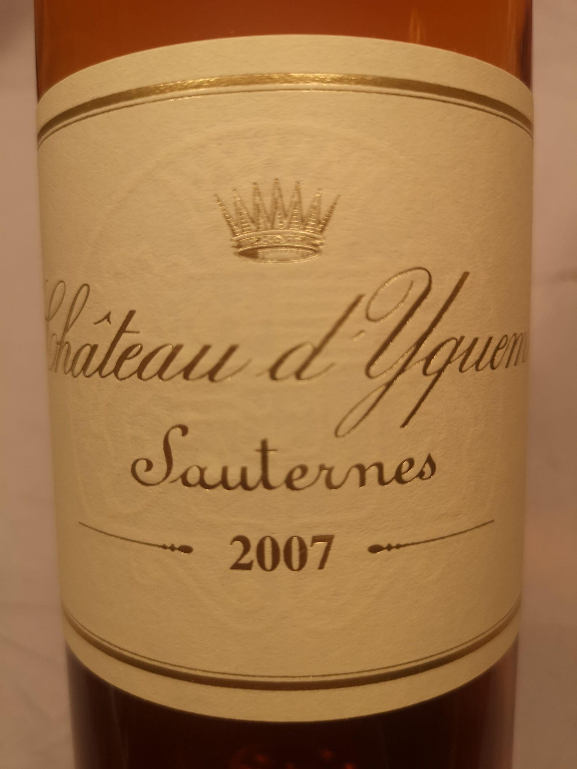 2007 Château d'Yquem | Château d'Yquem