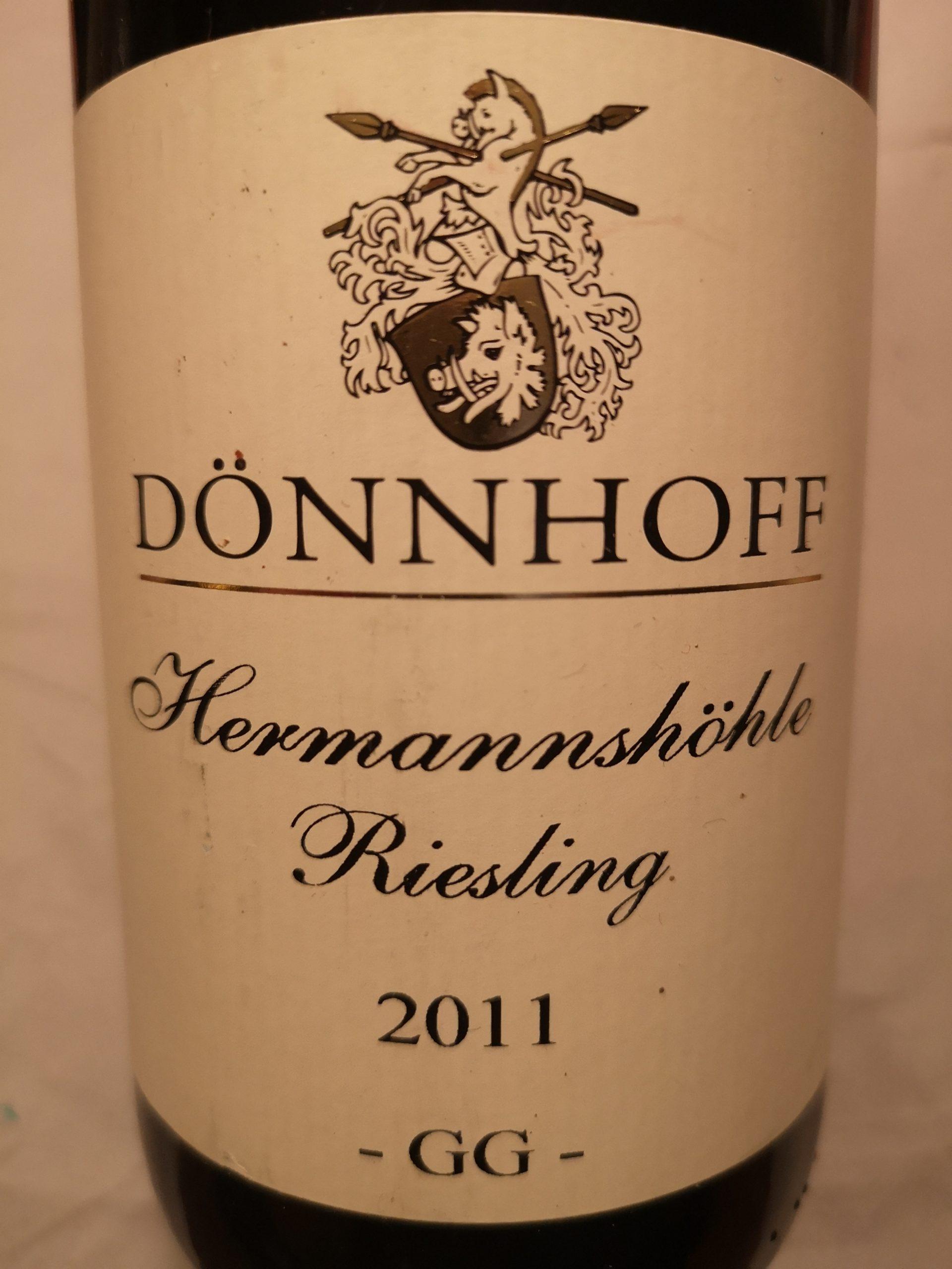 2011 Riesling Hermannshöhle GG   Dönnhoff