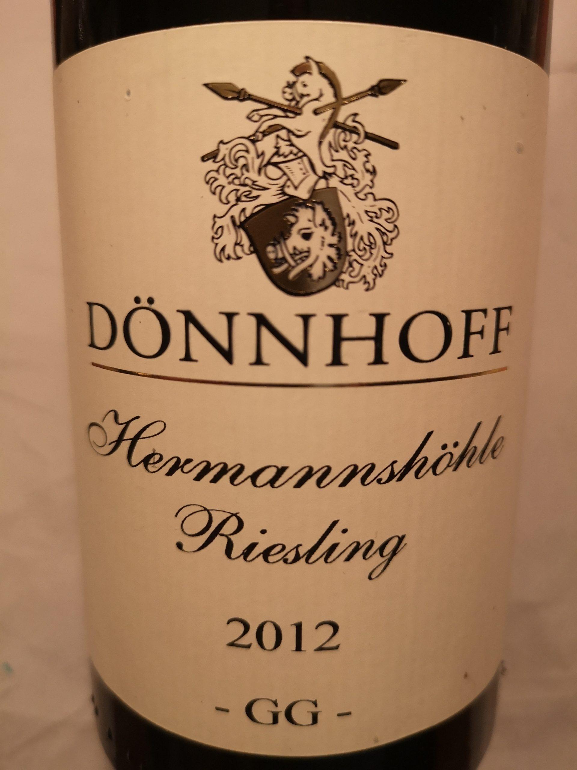2012 Riesling Hermannshöhle GG | Dönnhoff