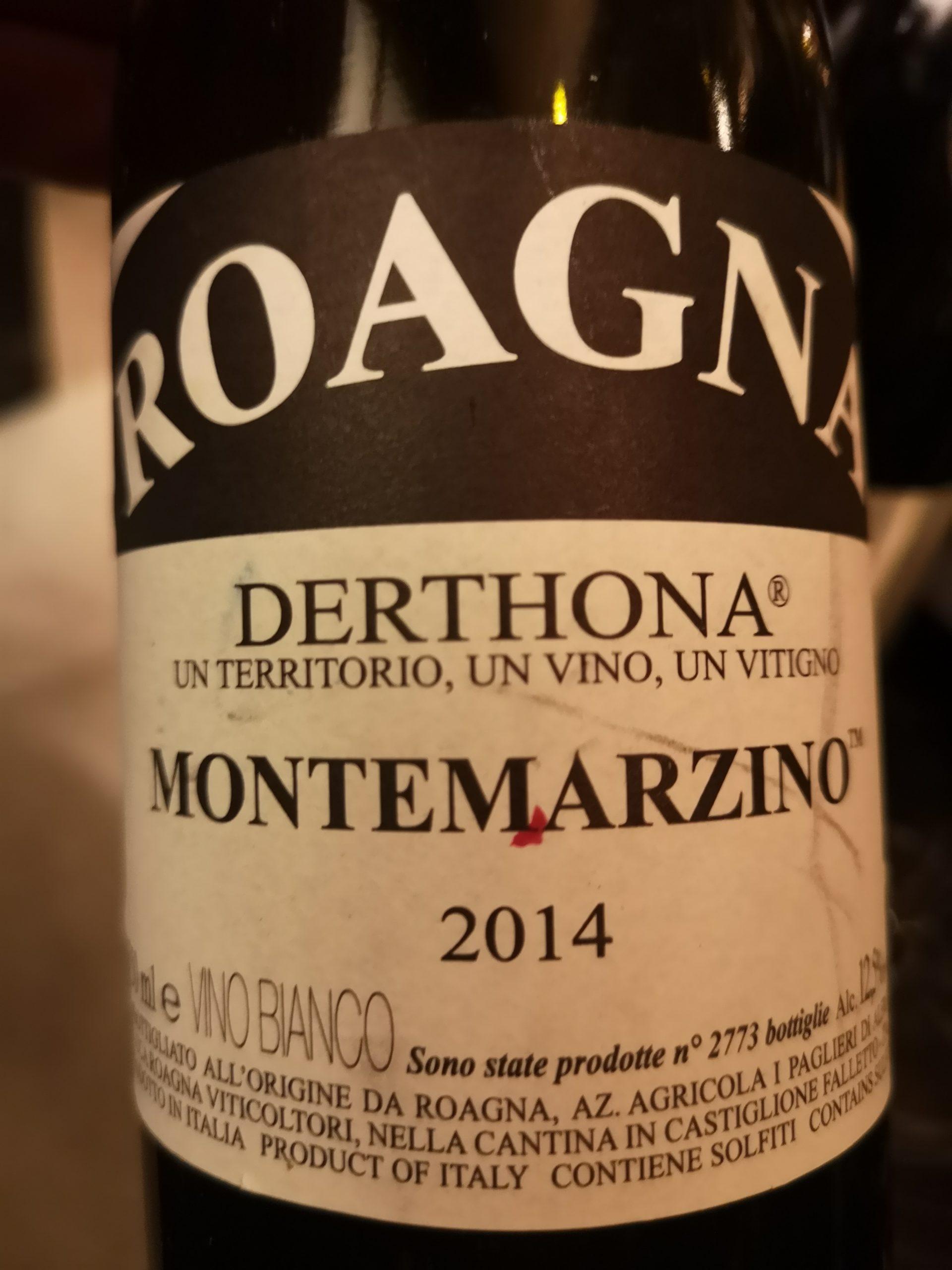2014 Chardonnay Derthona Montemarzino | Roagna