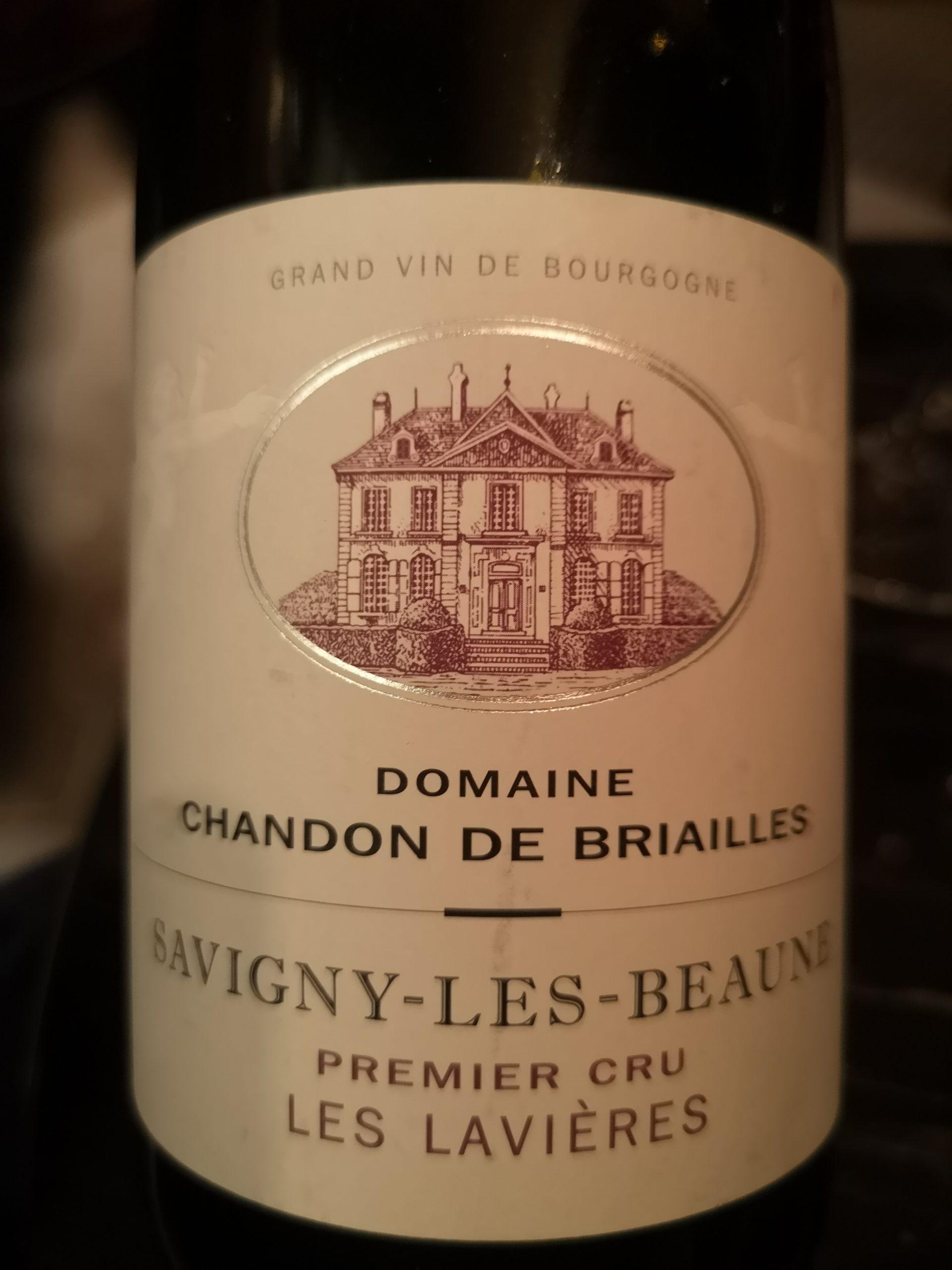 2015 Chardonnay Savigny-Les-Beaunes Premier Cru | Domaine Chandon de Briailles