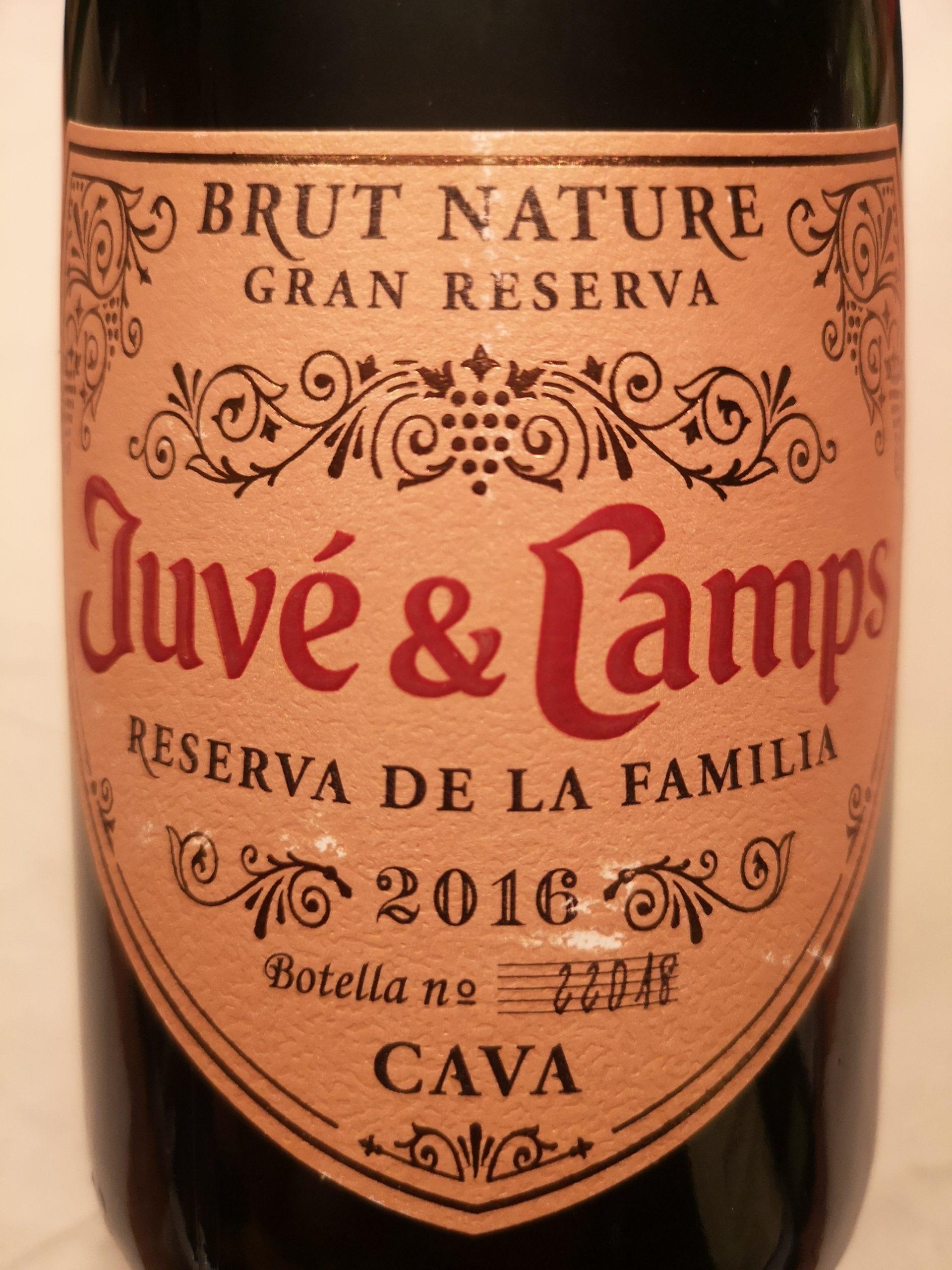 2016 Cava Reserva de la Familia BN | Juvé & Camps