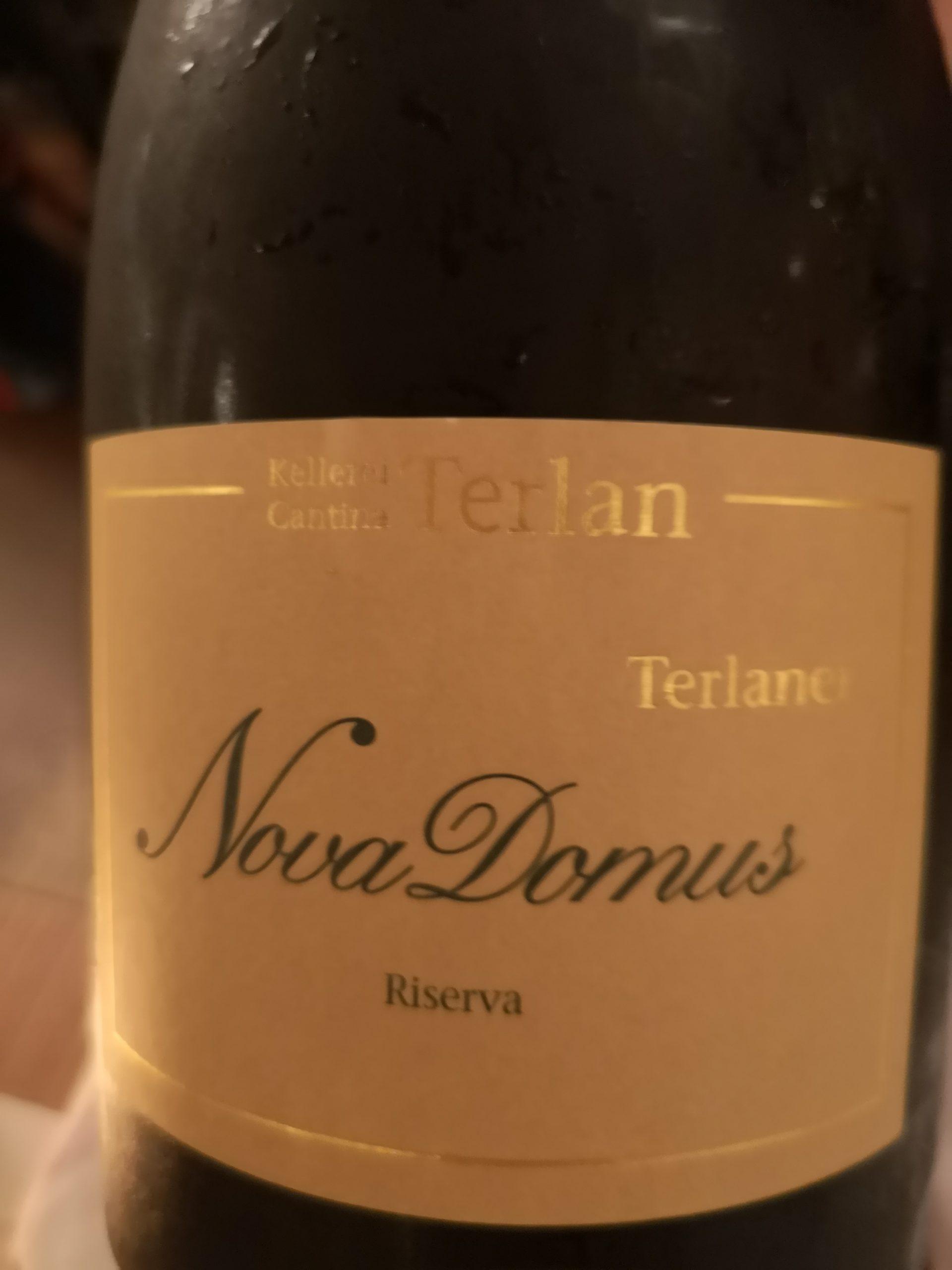 2017 Nova Domus Riserva   Cantina Terlan