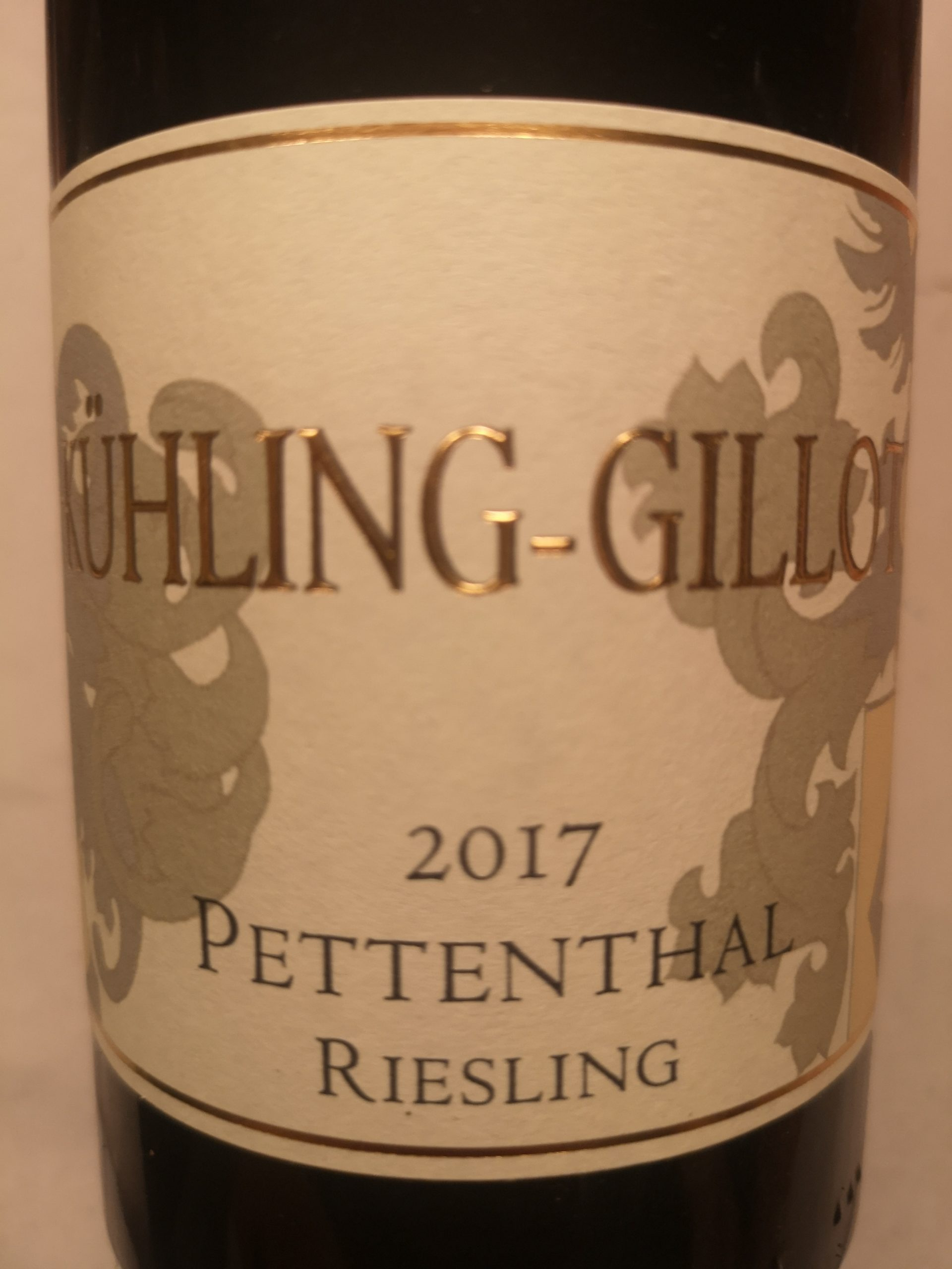 2017 Riesling Pettenthal GG | Kühling-Gillot