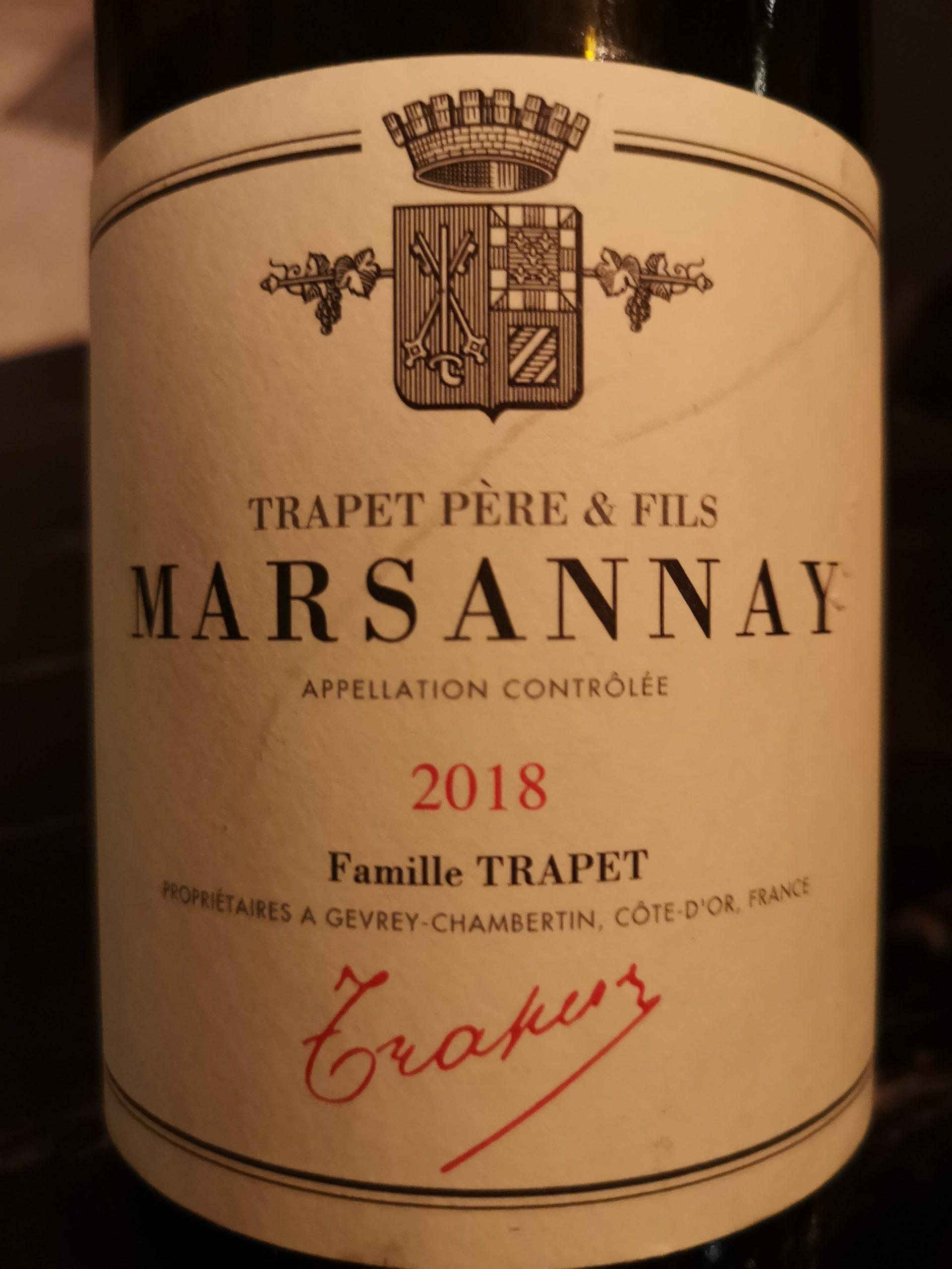 2018 Chardonnay Marsannay | Jean-Louis Trapet