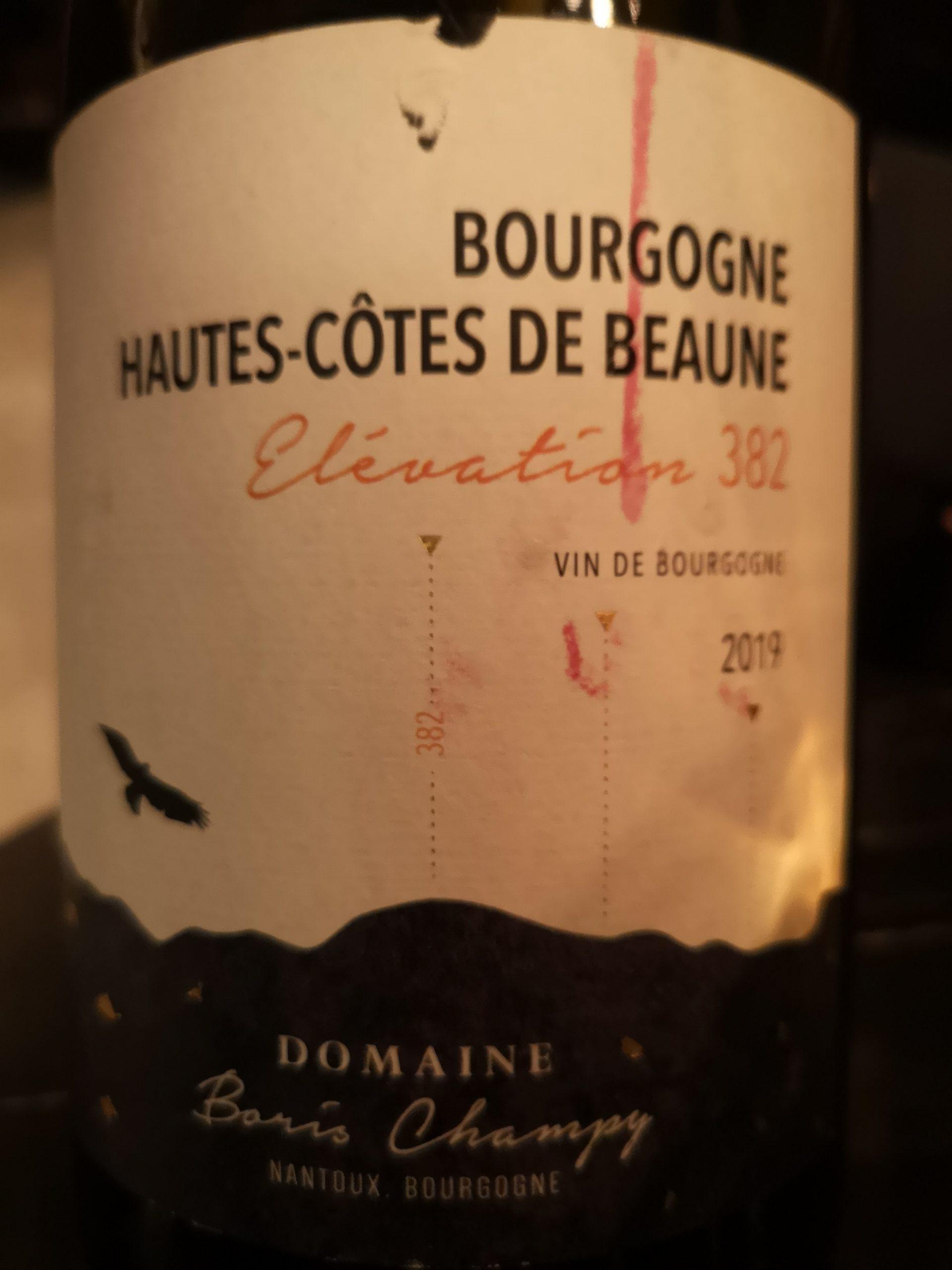 2019 Chardonnay Bourgogne Hautes-Côtes de Beaune | Boris Champy