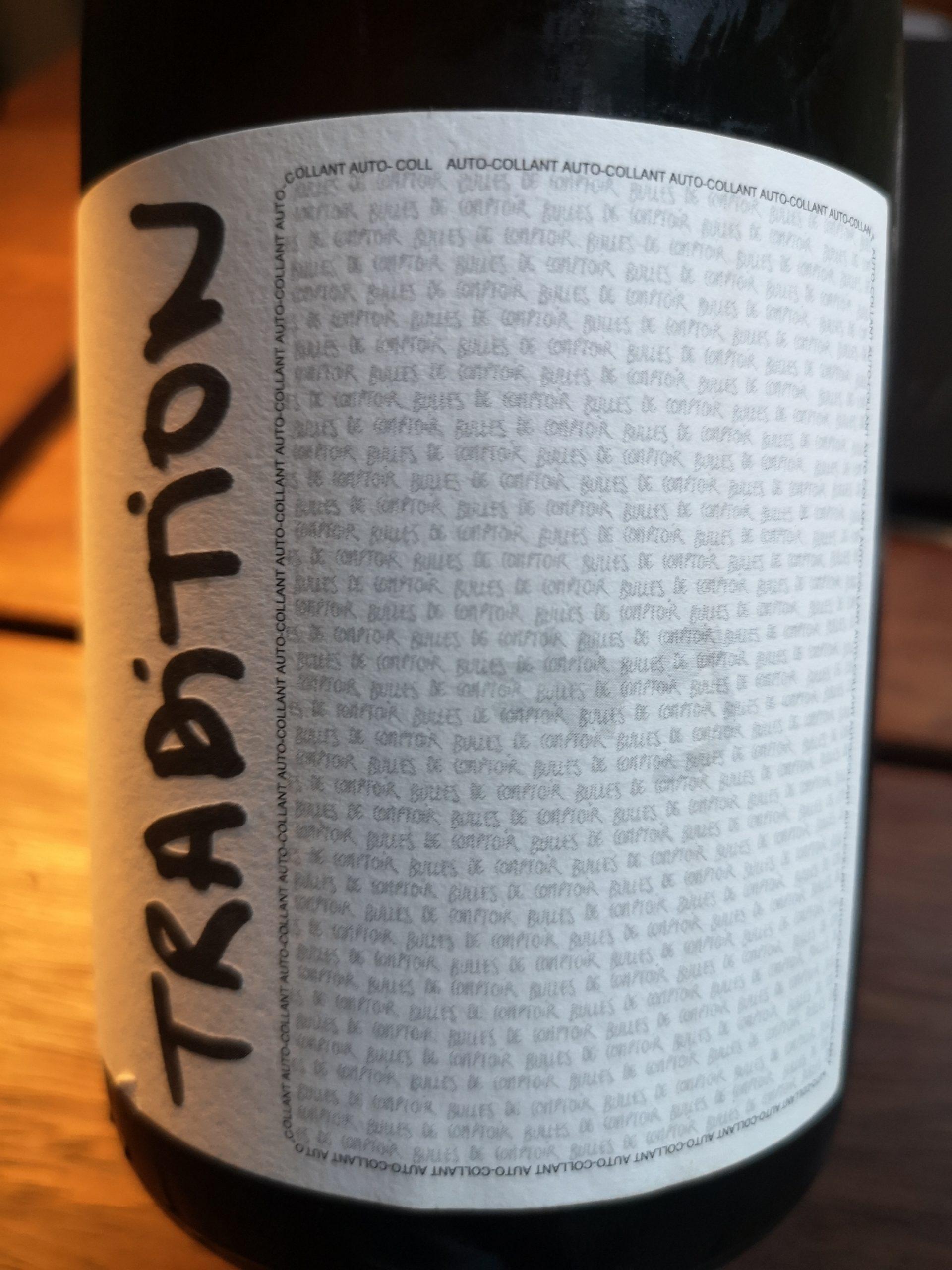-nv- Champagne Bulles de Comptoir No. 9 Tradition   Dufour