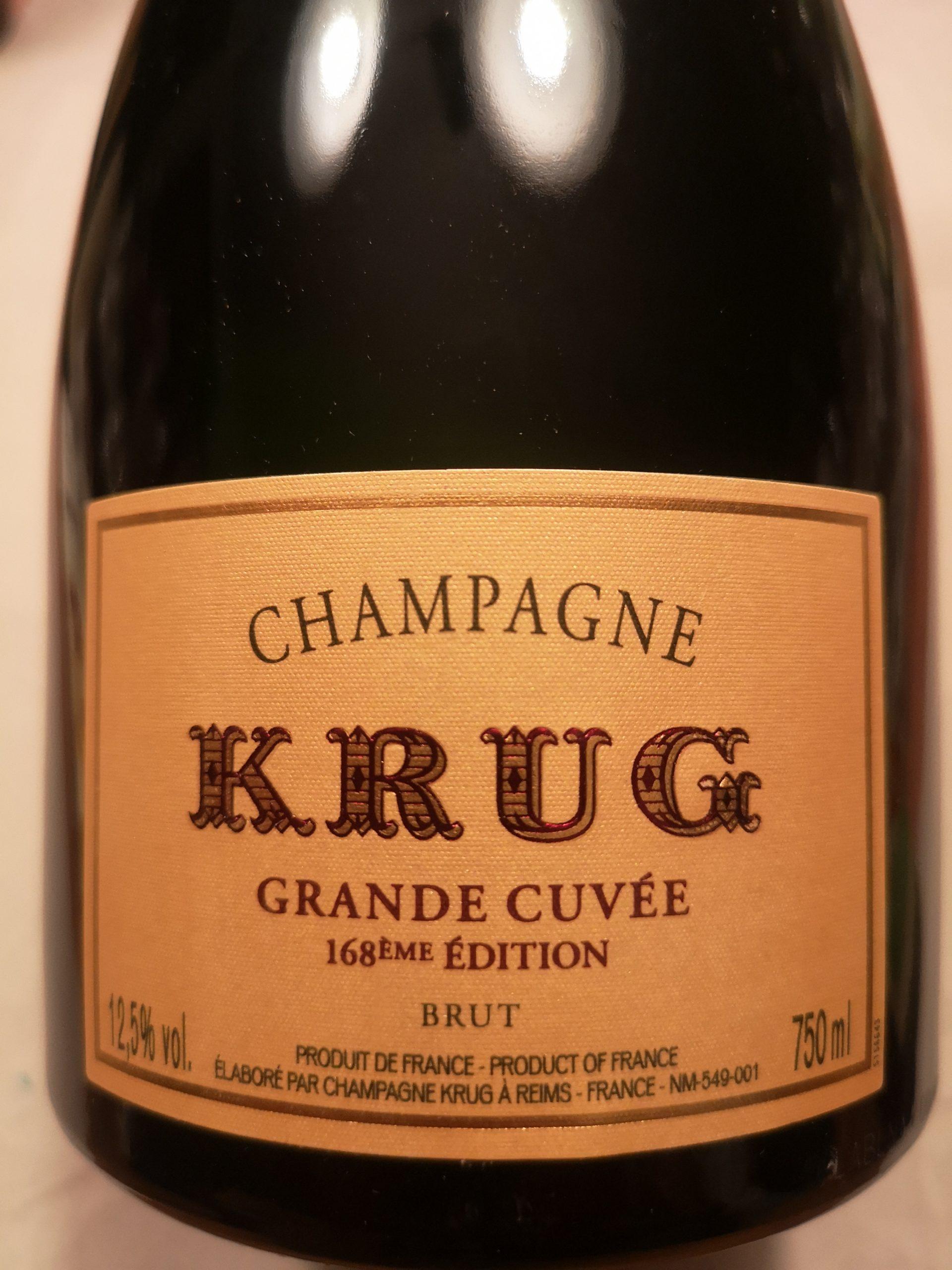 -nv- Champagne Grande Cuvée 168ième | Krug