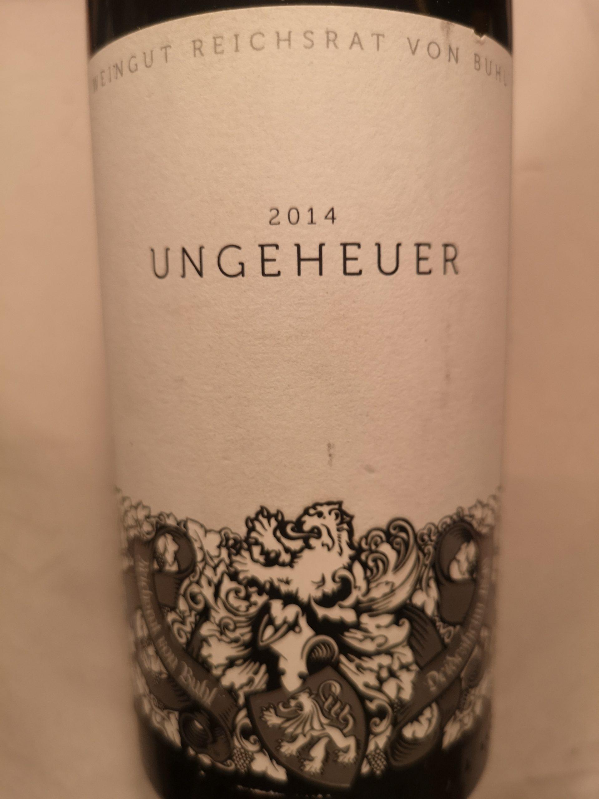 2014 Riesling Forster Ungeheuer GG | von Buhl