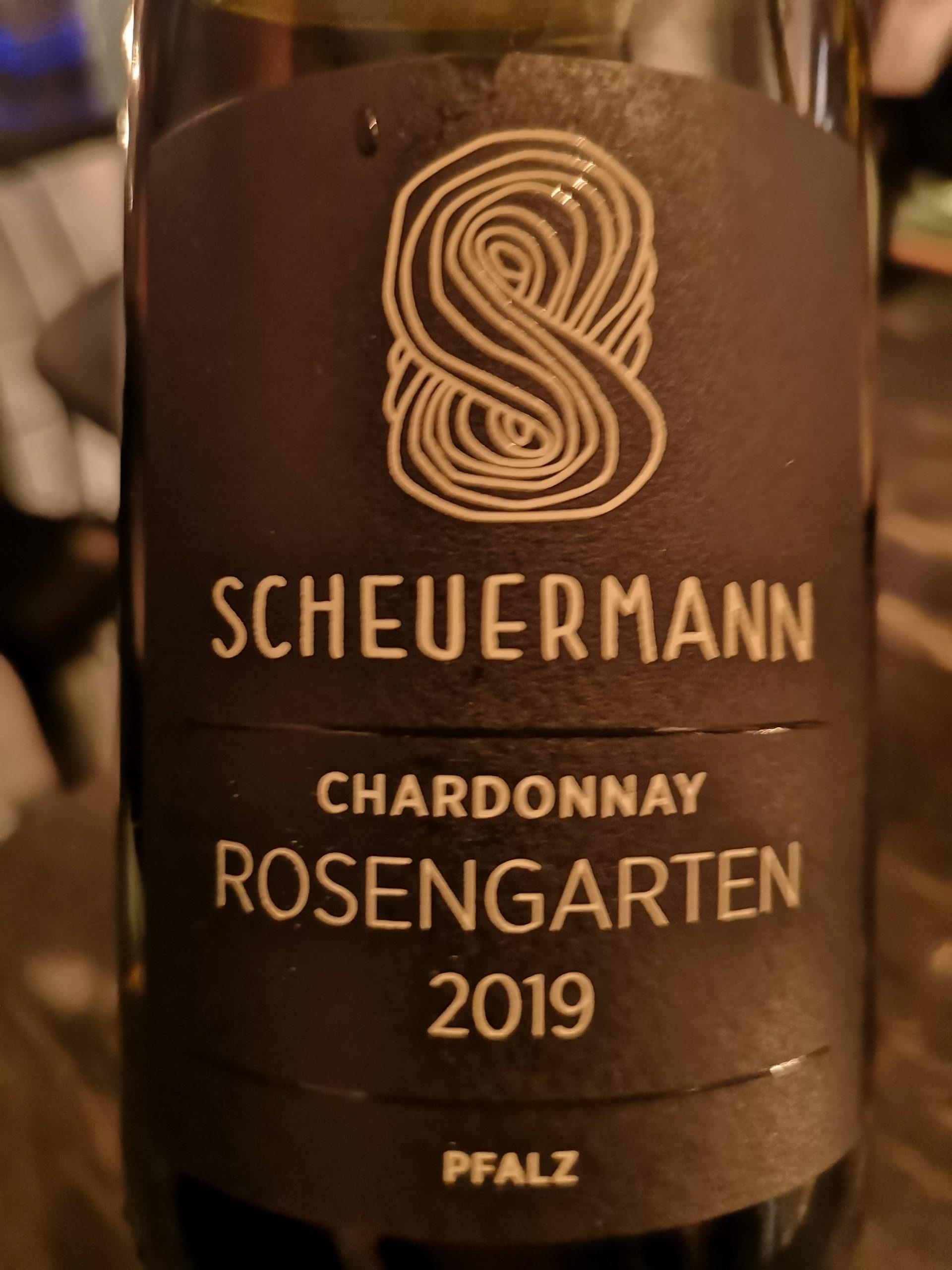 2019 Chardonnay Rosengarten | Scheuermann