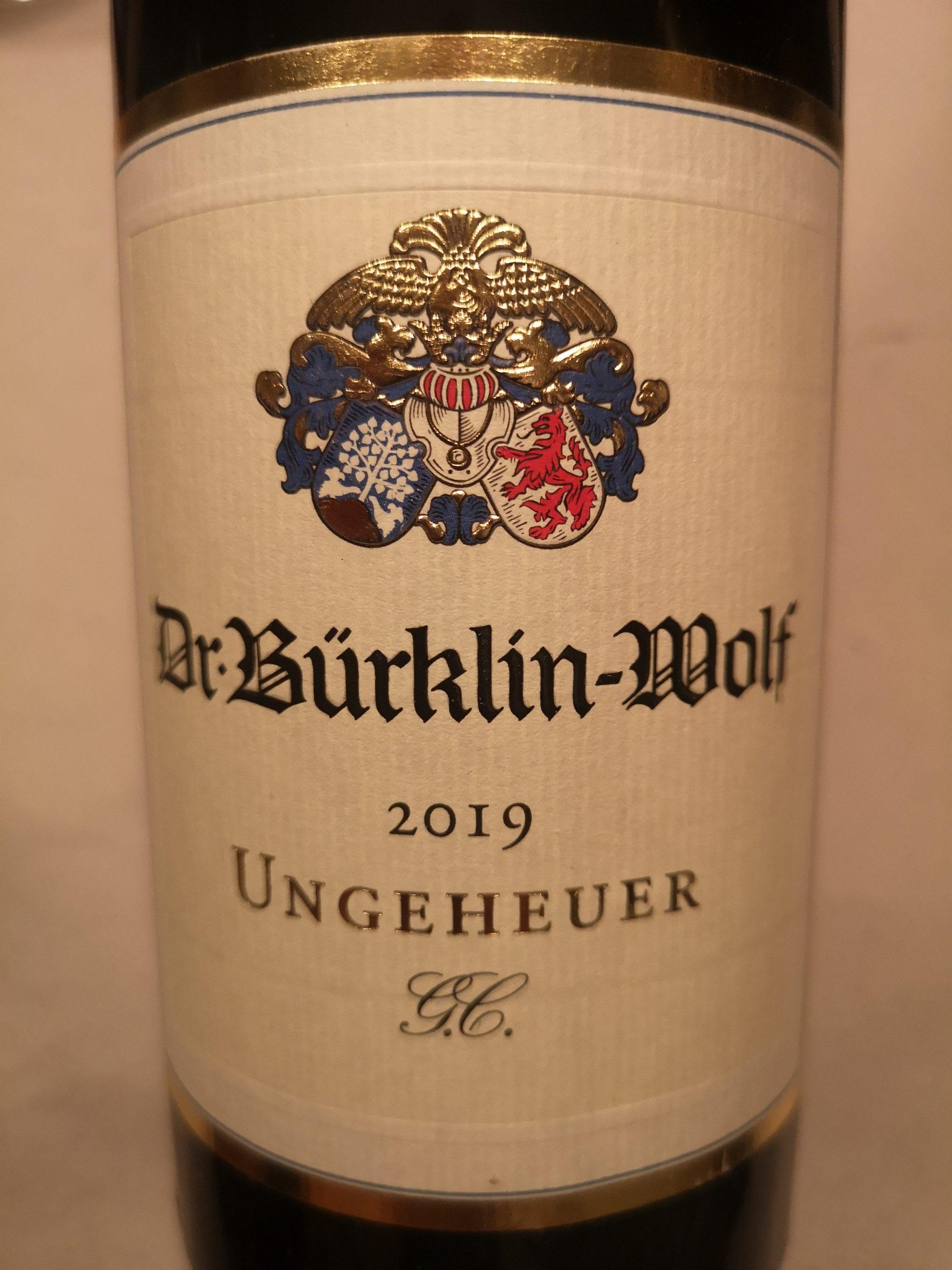 2019 Riesling Forster Ungeheuer GC | Bürklin-Wolf