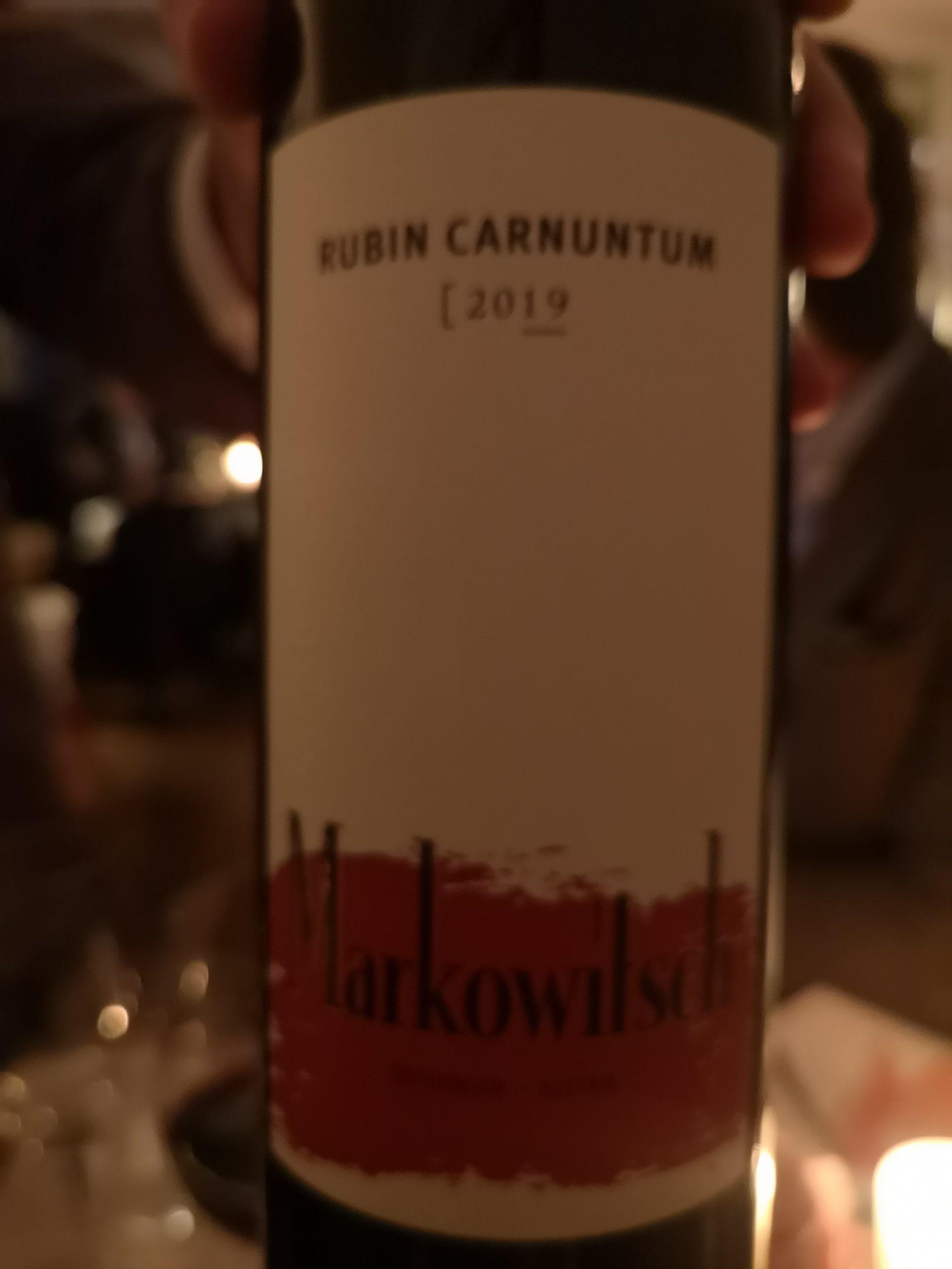 2019 Rubin Carnuntum | Markowitsch
