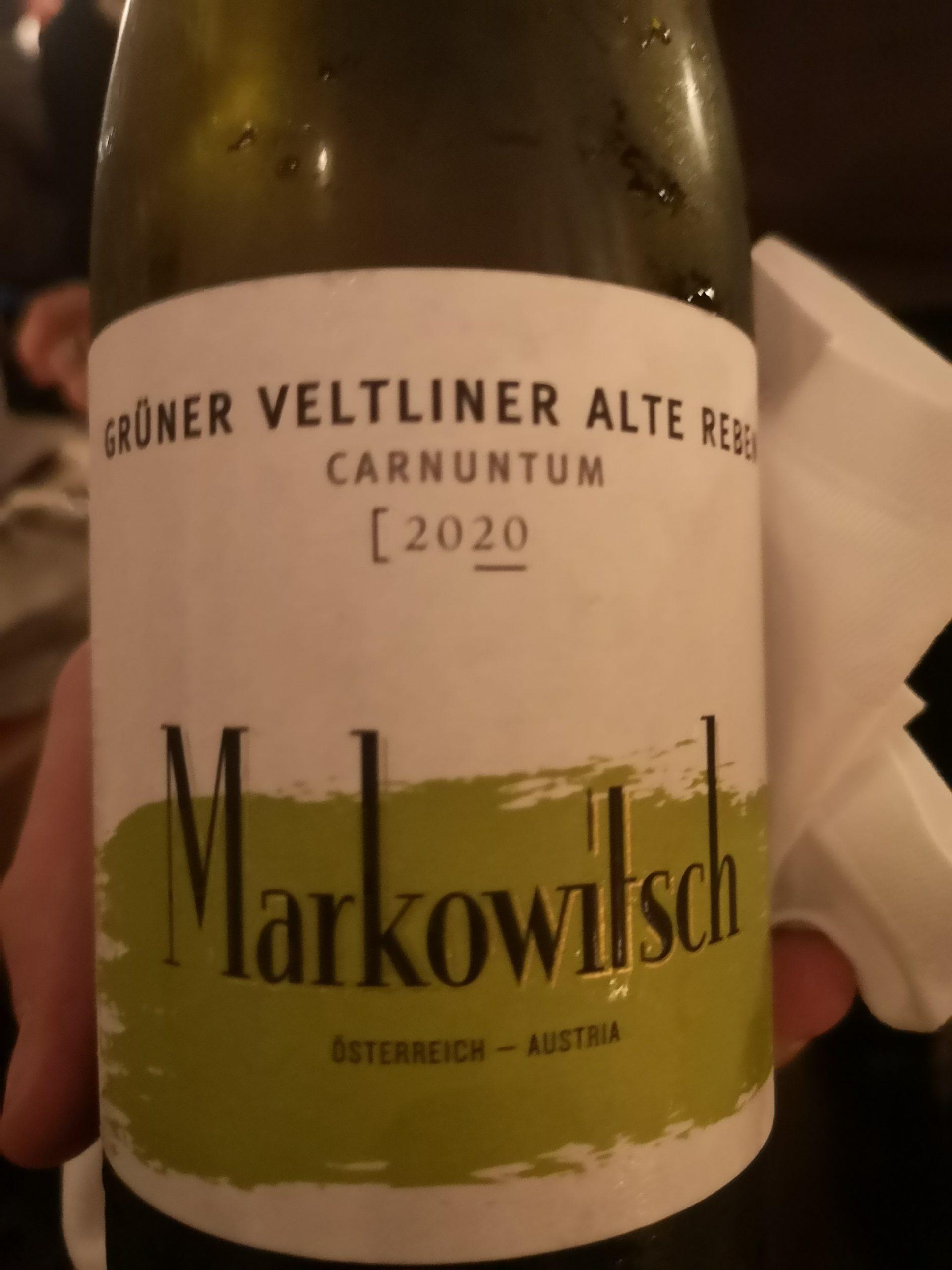 2020 Grüner Veltliner Alte Reben | Markowitsch